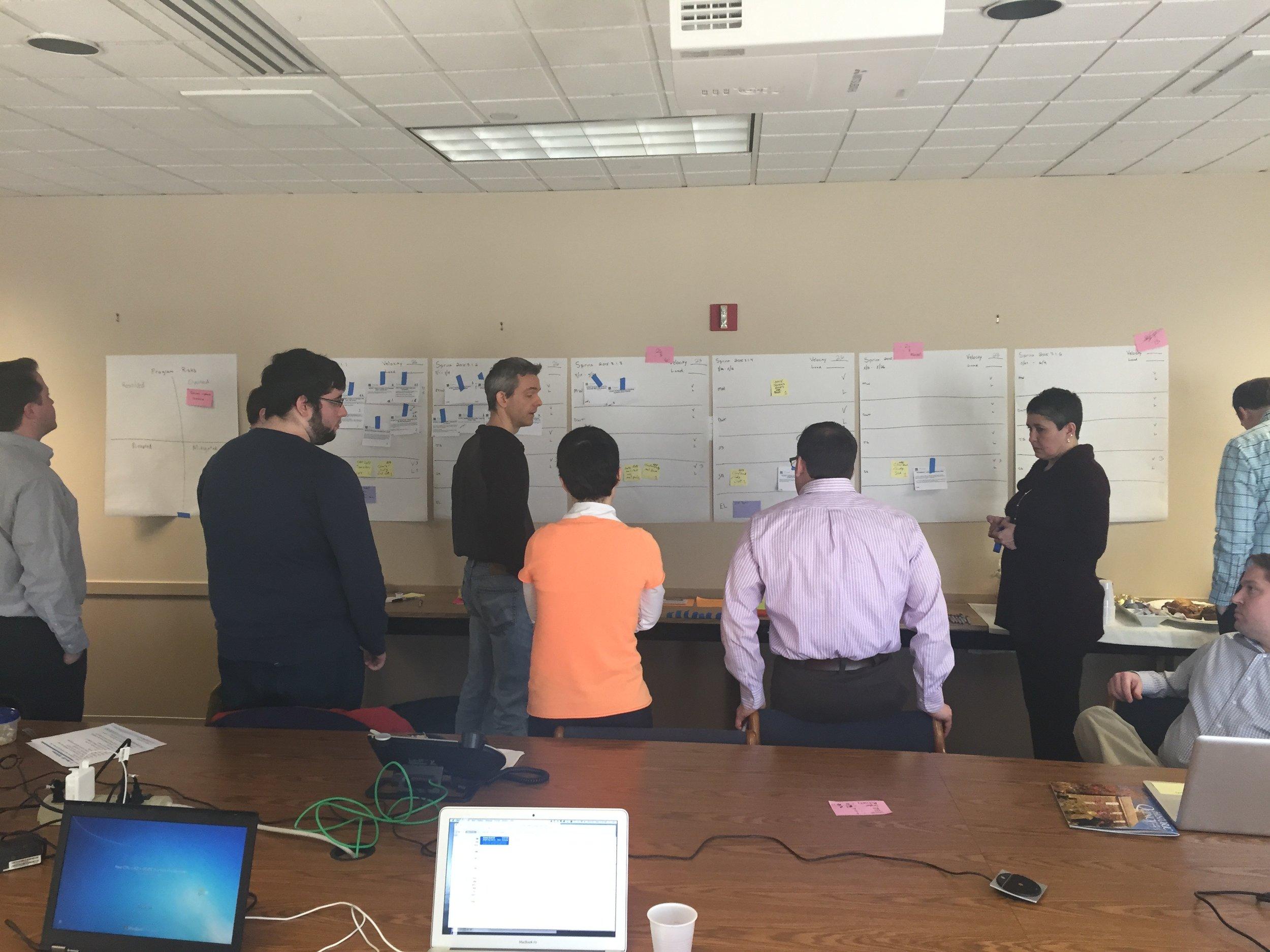 Agile SCRUM Quarterly Planning Process