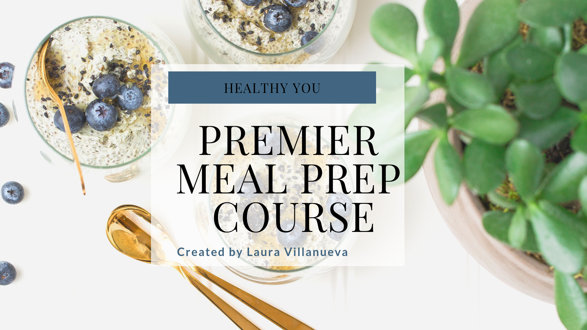 Healthy You - Premier Meal Prep Course