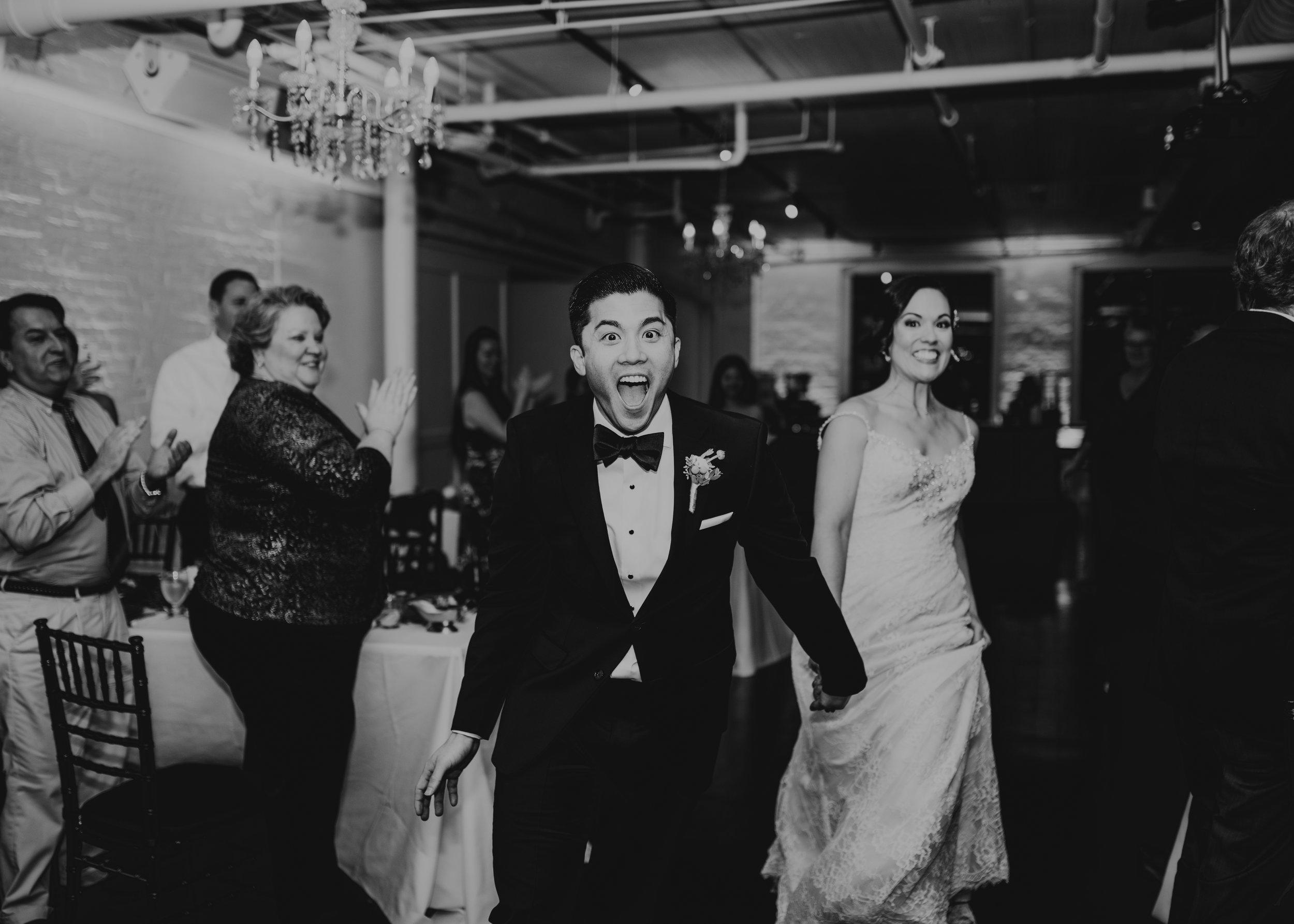 missy + Steve's gatsby loft wedding -