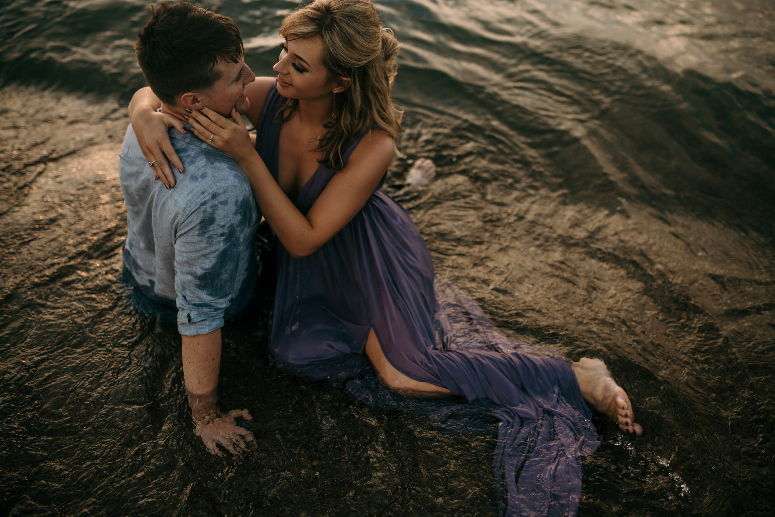 Zack + Hannah's Beach Engagement -