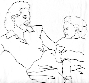 Lily & Naomi, drawing from photo #3.jpg
