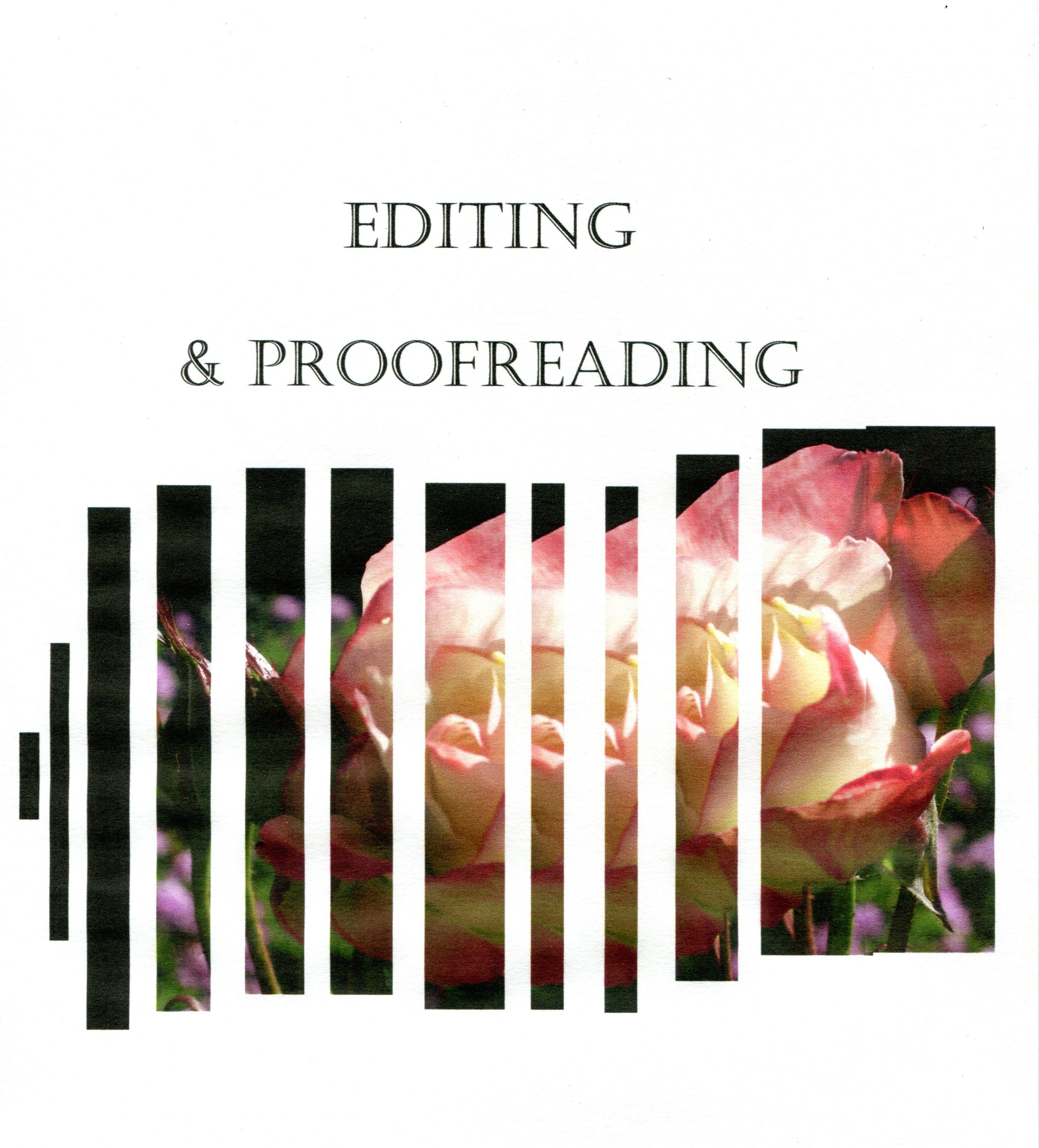 editing & proofreading through naomi rose