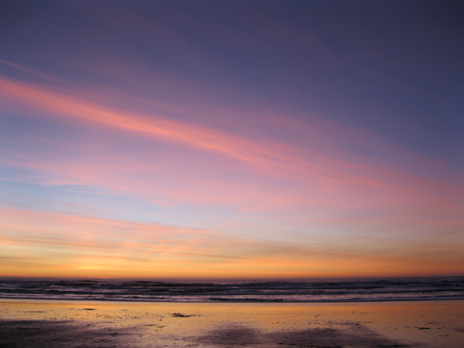 #2: sunset, ocean beach #2