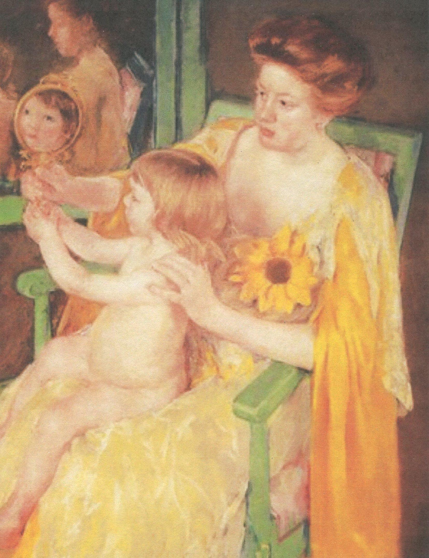 Mary Cassatt, Mother Wearing a Sunflower on Her Dress.jpg