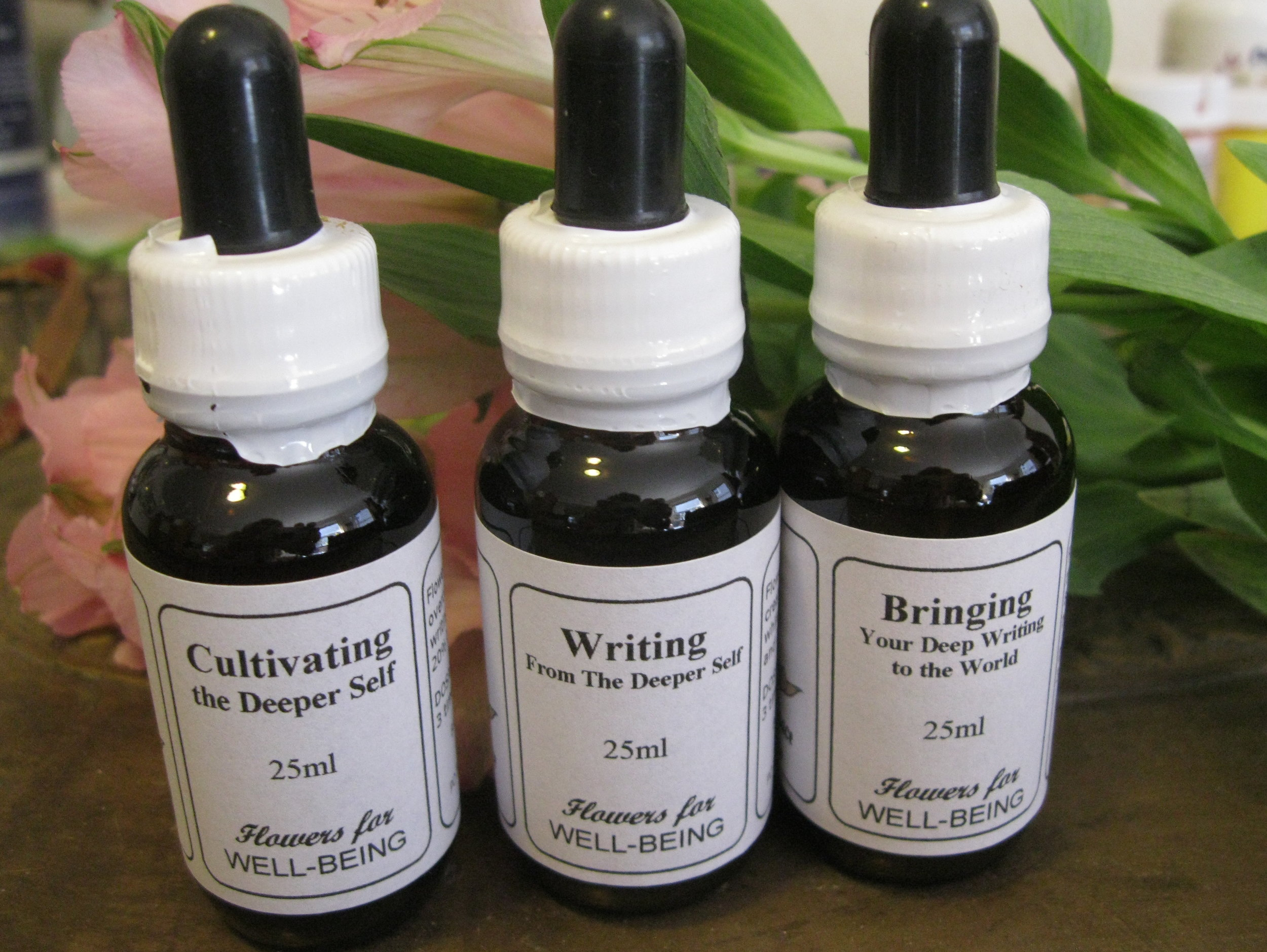 "🌸 Sacred Space Essentials — an Australian flower essence company whose remedies I have long used and enjoyed — has collaborated with me to design a unique series of flower essence remedies exclusively for the Rose Press ""Enhancements for Writers"" Collection. Both of us are dedicated to enhance your flowering through your writing. -"