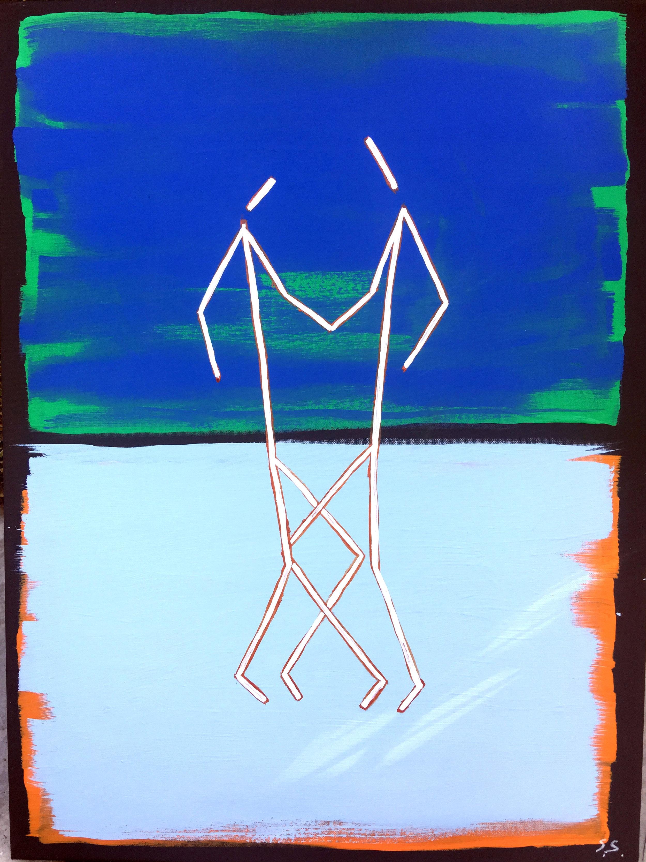 The Performance - Acrylic on Canvas