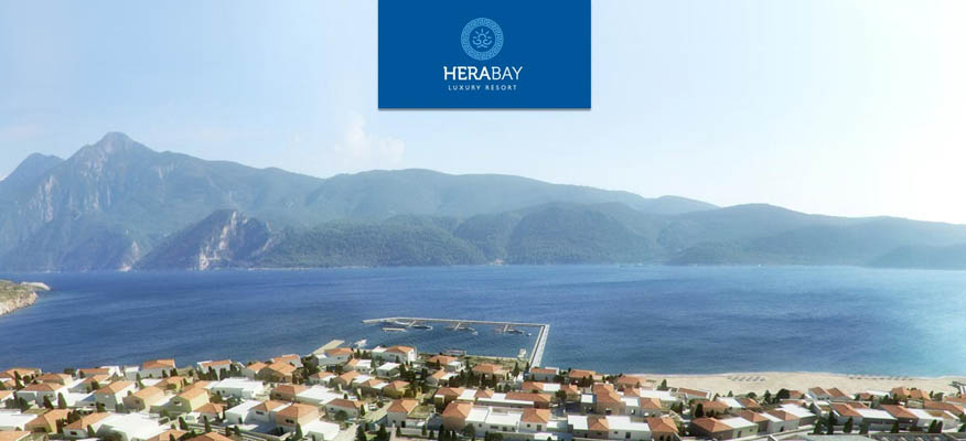 HERA BAY,Kilima, Samos - Location: SamosGuide priceFractional from: £12,100Full Ownership from: £120,000Type: Various HomesHera Bay Luxury Resort nestles in a sheltered bay on the south eastern tip of the beautiful island of Samos, Greece. Meticulously designed to ensure that nearly all property owners enjoy the panoramic sea views from their own terrace, Hera Bay Luxury Resort represents a superb overseas property opportunity and stunning lifestyle choice.