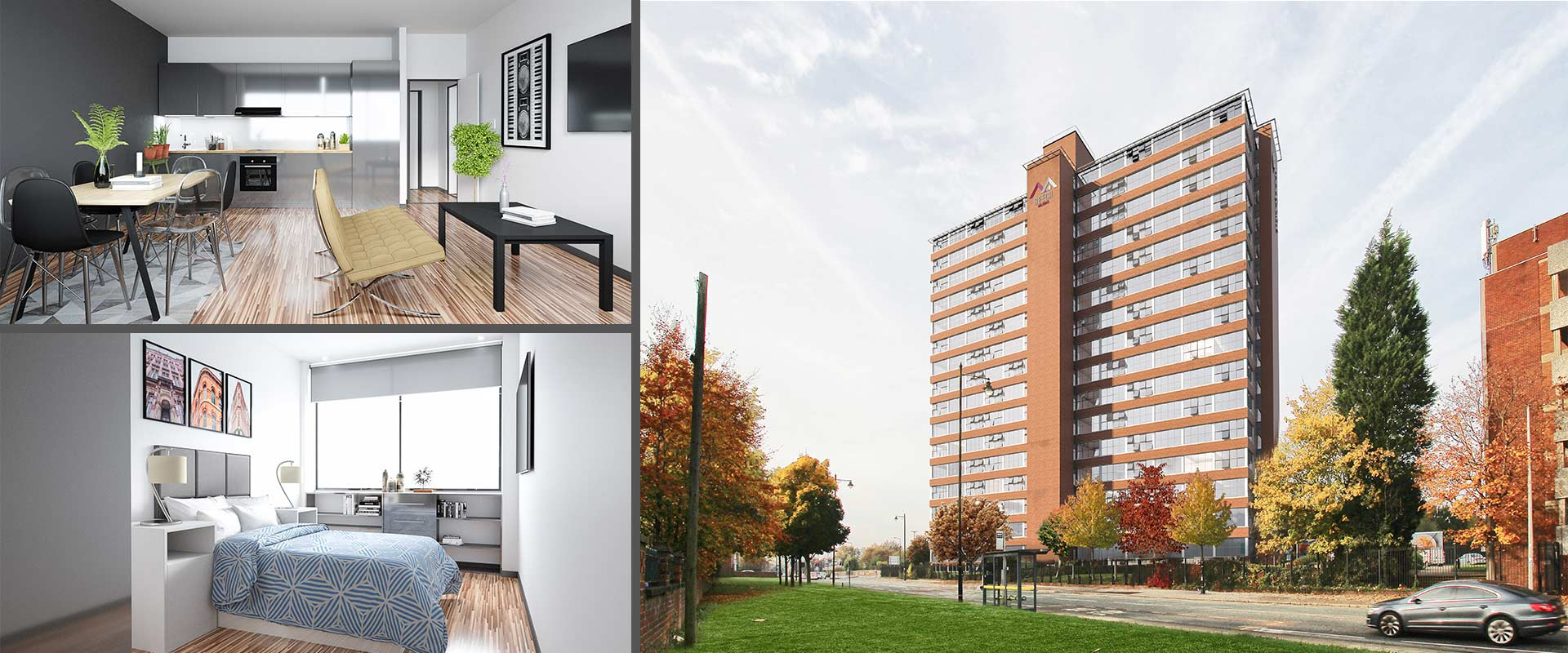 WEST POINTManchester, England - Location: Manchester, England (Old Trafford)Guide price from: £79,000 to £170,857Type: Apartments, Studio, 1 and 2 BedBuy to Let Investment (Very Desirable)We are now down to the final 14 units in West Point, Manchester. Our developer has embarked in the acquisition of unloved, forgotten buildings in prime locations, with our attention turned to Manchester city centre WestPoint is an excellent, affordable, environmentally sustainable and effciently designed selection of apartments for the increasing number of young professionals living in the thriving city centre.The development is on target to be completed by the end of July 2018...
