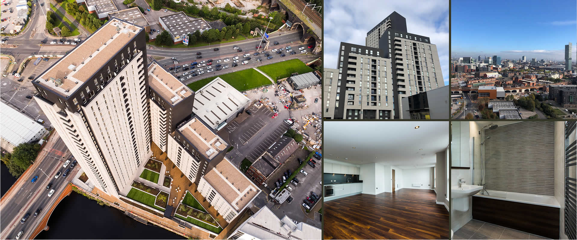 Manchester From: £237,300 to £474,895 - 2 & 3Bed Apartments