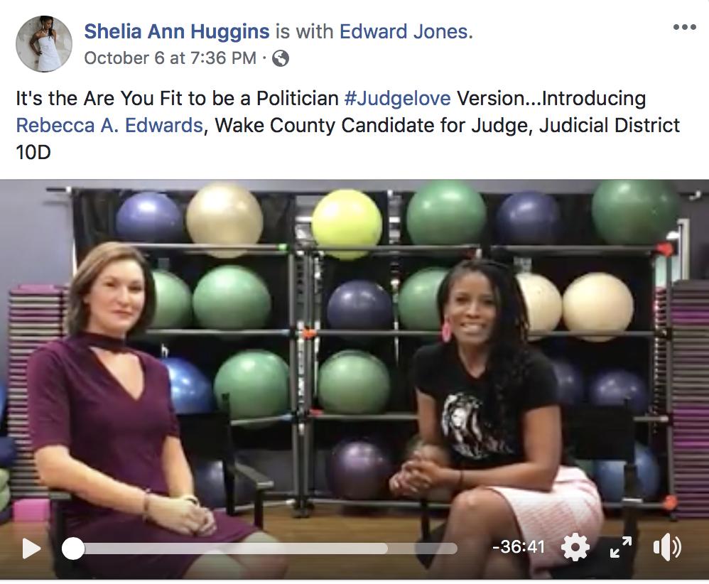 Shiela Huggins- Judge Love