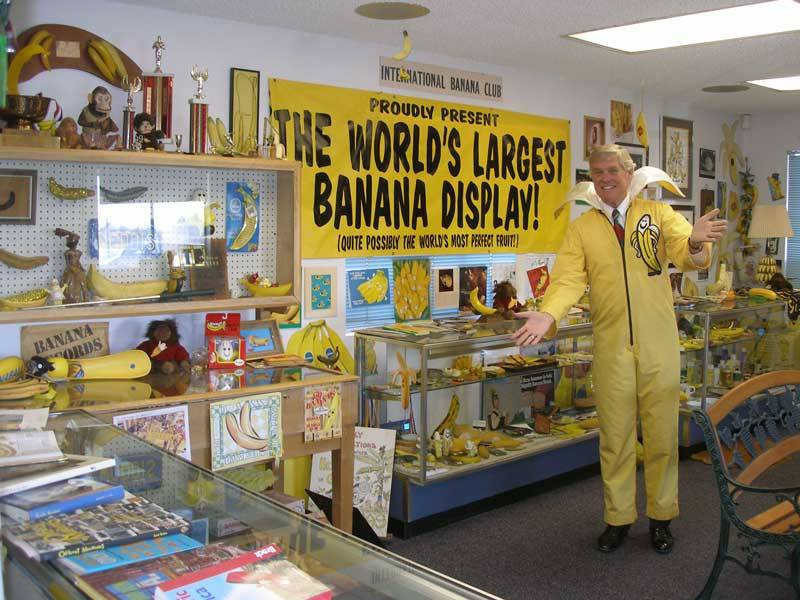The International Banana Club and Museum is in jeopardy. NPR is on the  case .     This is totally not an April Fools Joke.   Save the bananas.