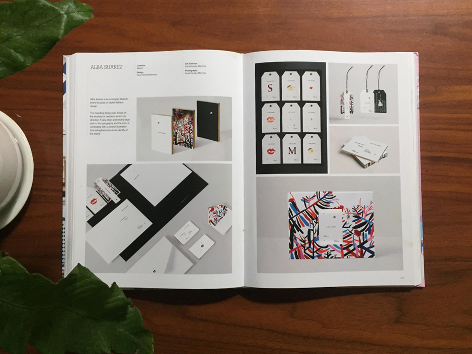 ALBA SUAREZ.  Publication Brand Adicction, Designing Identity for Fashion Stores.
