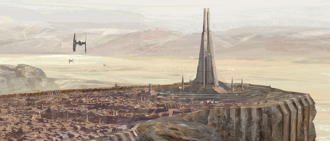 Temple of Kyber (ie 'Temple of The Whills') As seen in Rouge One: A Star Wars Story