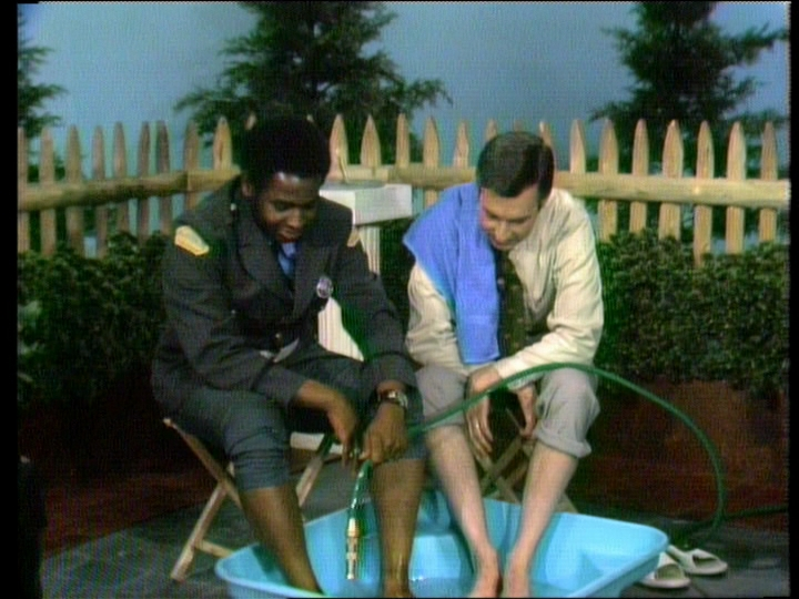 Mister Rogers with François Clemmons
