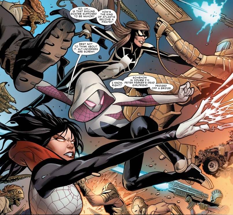 Spider-Army from Spider-Woman Vol. 4
