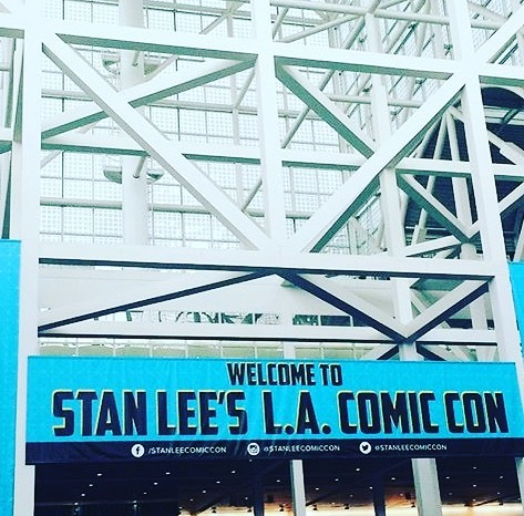 Who else is going to #LACC this weekend? We've got some exciting interviews coming up that we can't wait to share with all of you! #staytuned #presscoverage #stanleecomiccon