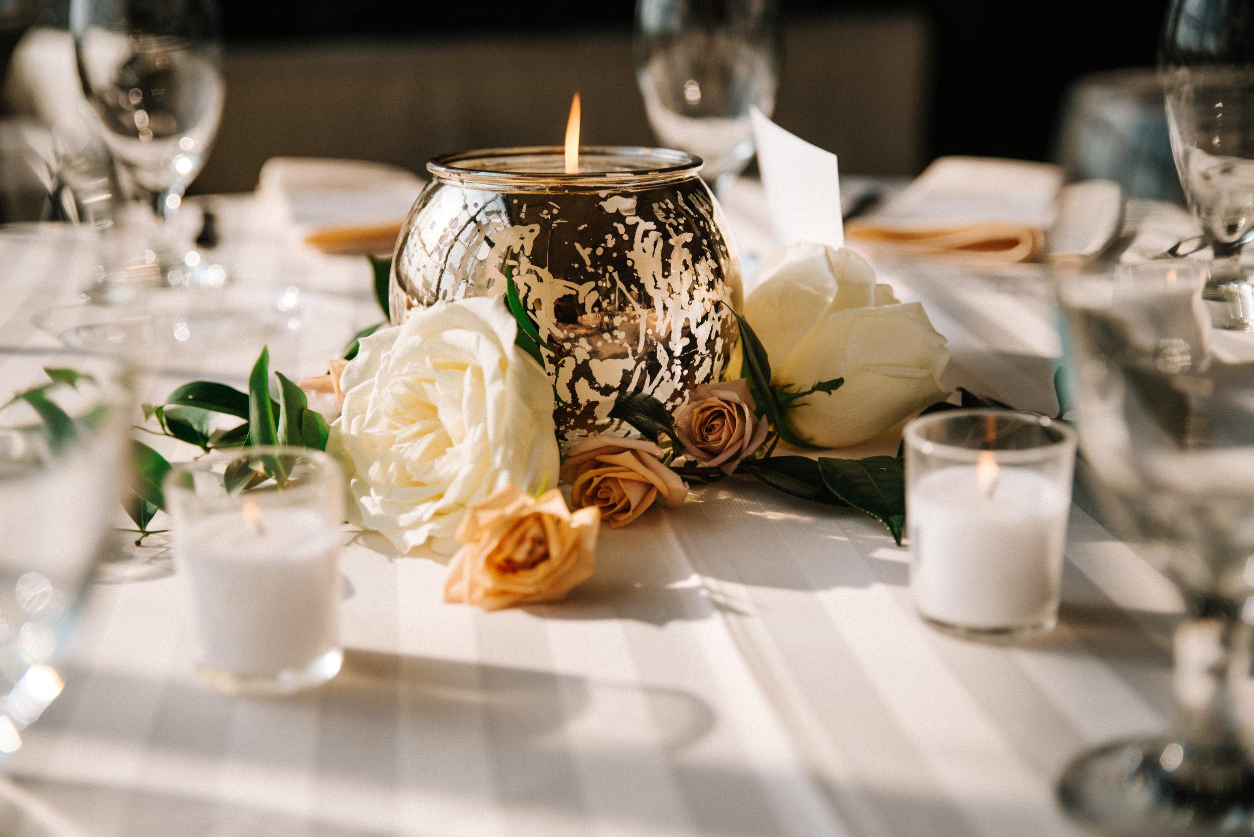 The Lofts at Union Square, High Point, NC. Reception Detail photos. North Carolina Wedding Photographer, Marina Rey Photography.