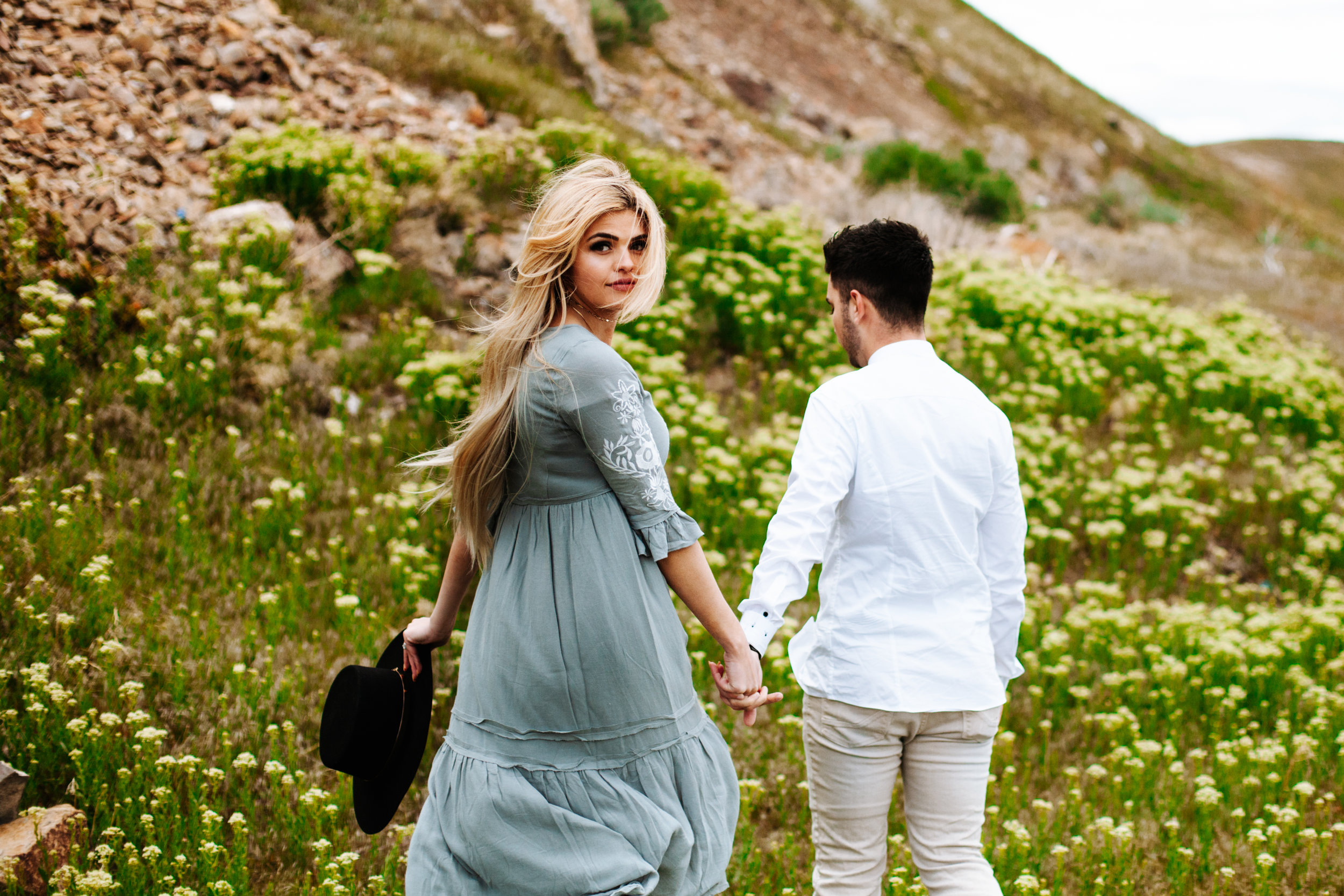 Windy Utah Valley Engagement Session