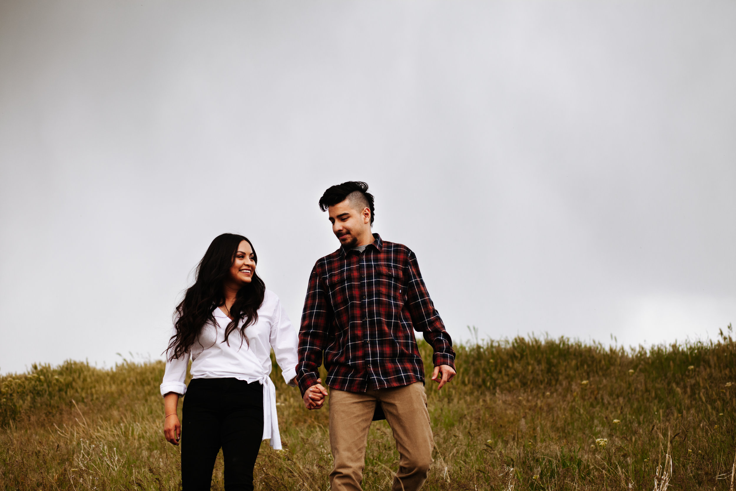 +Grassy Fields +Windy Engagement Session +Utah Engagement  Photographer +SLC Engagement +Utah Wedding Photographer +Marina Rey Photo-7836.jpg
