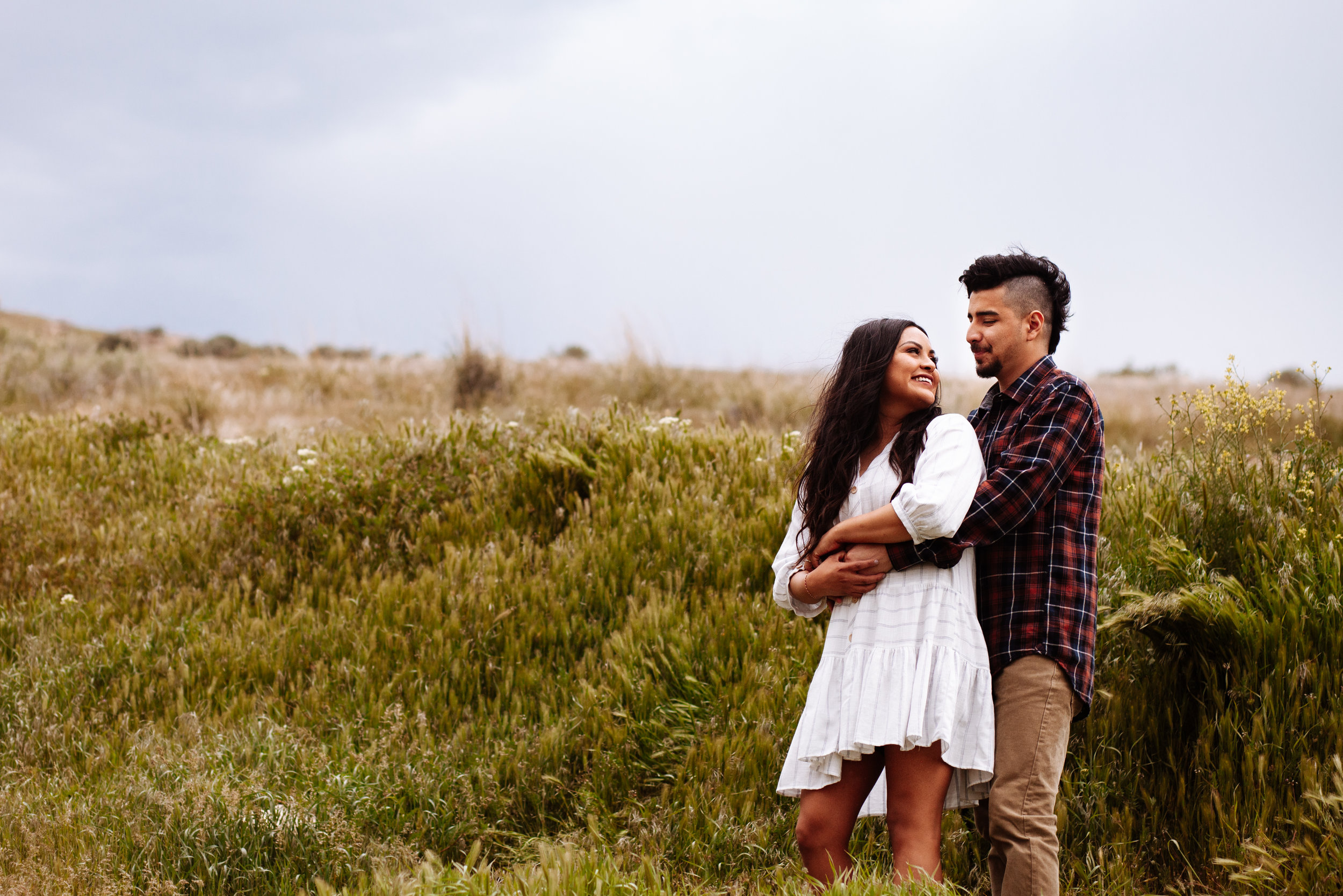 +Grassy Fields +Windy Engagement Sessoin +Utah Engagement  Photographer +SLC Engagement +Utah Wedding Photographer +Marina Rey Photo-8028.jpg