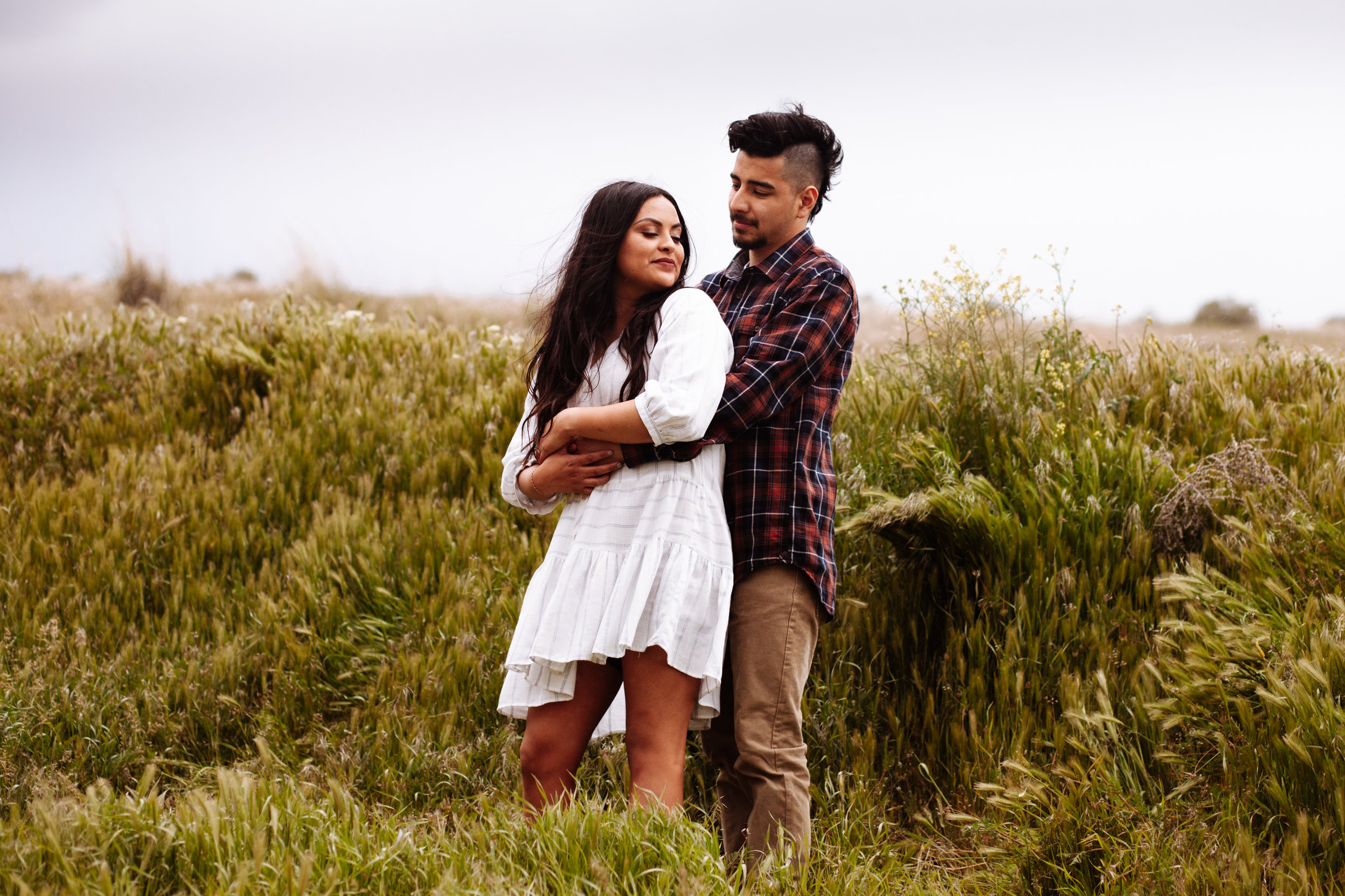 +Grassy Fields +Windy Engagement Sessoin +Utah Engagement  Photographer +SLC Engagement +Utah Wedding Photographer +Marina Rey Photo-8020.jpg