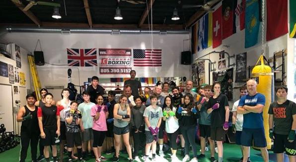 Beginners Boxing Class