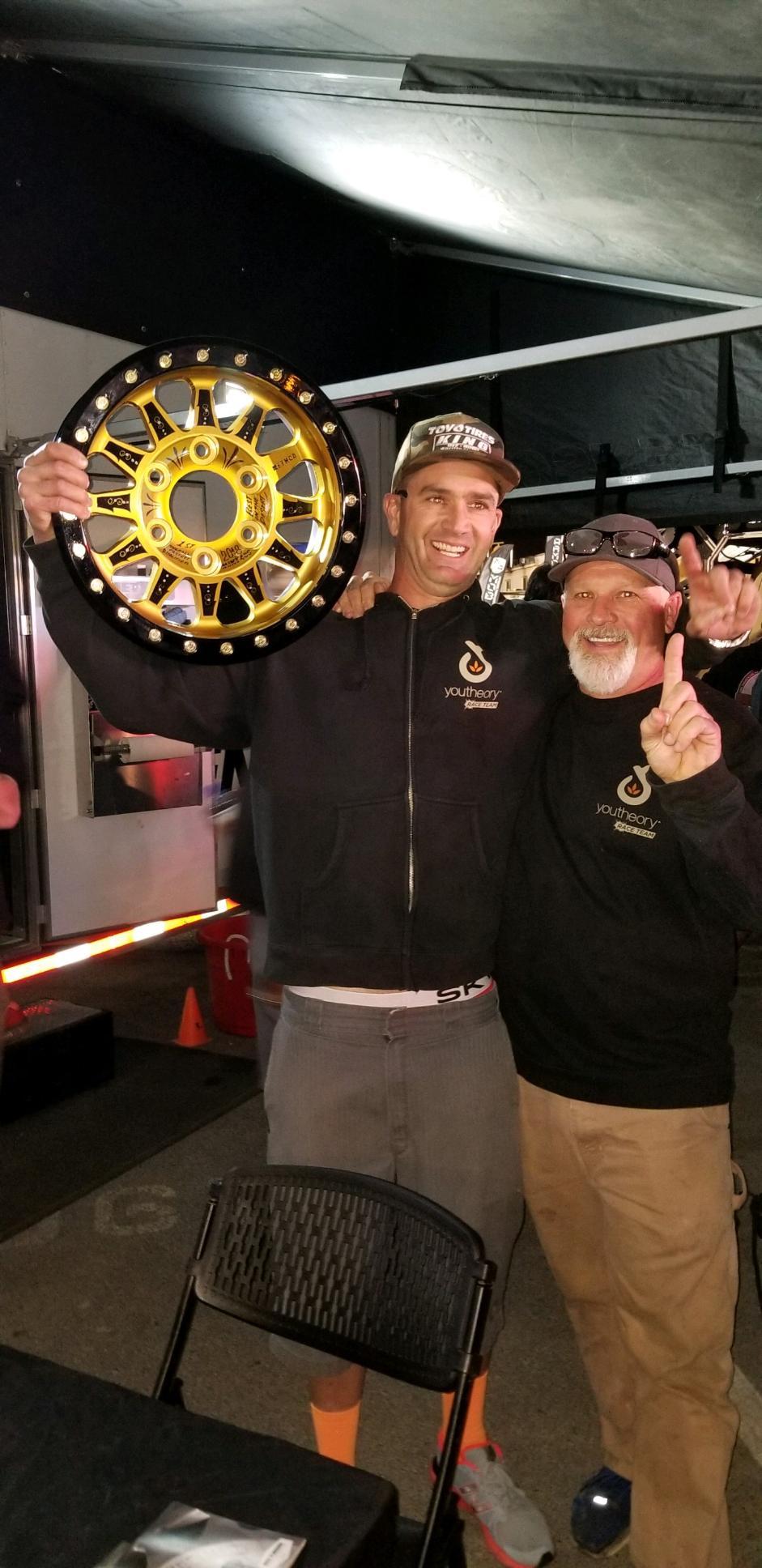 Harley Letner with owner Jeff Ginter