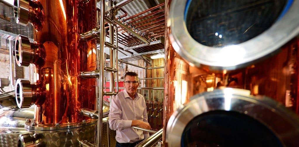 Tasmanian whisky distillery
