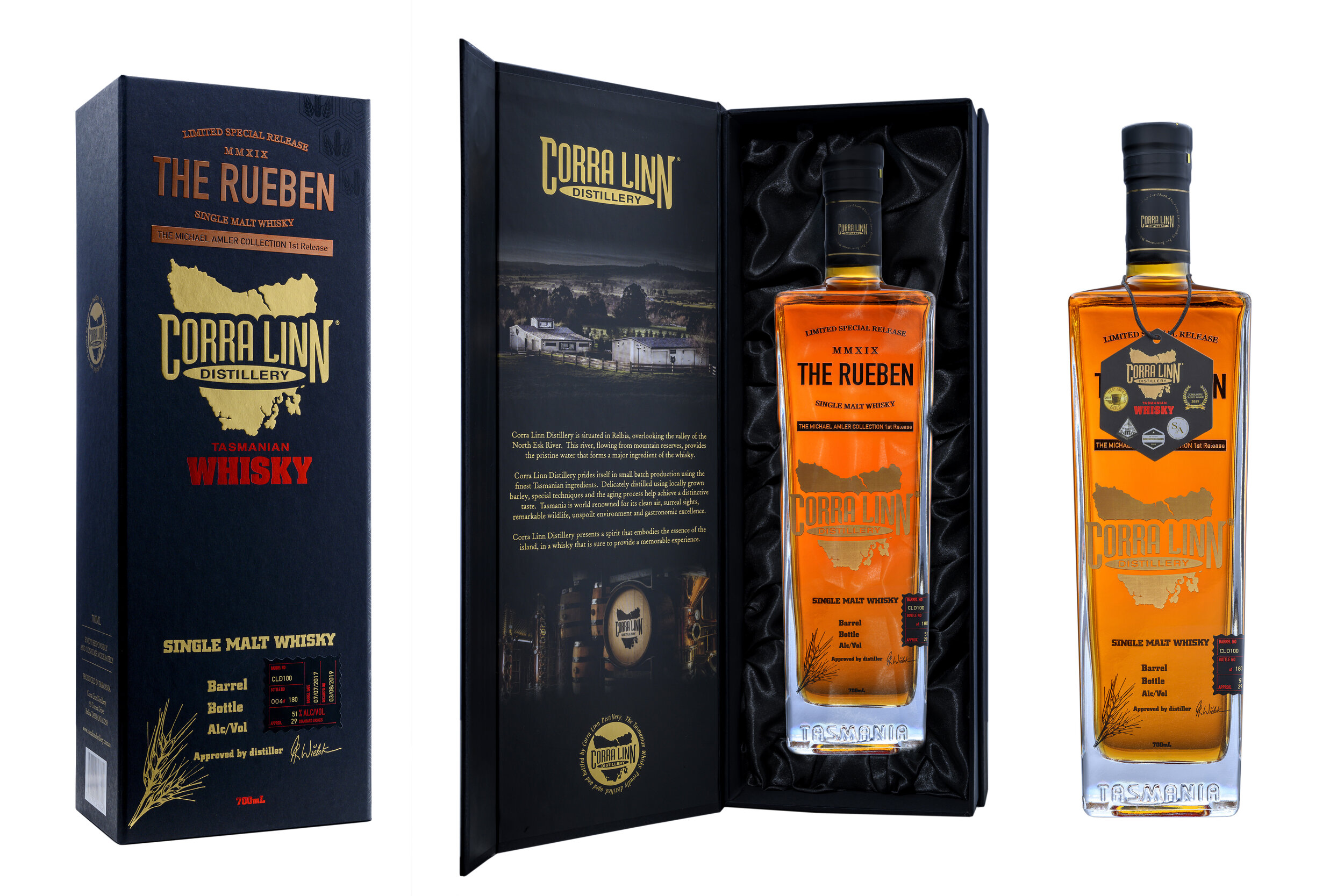 Limited special release - The Rueben Single Malt Whisky