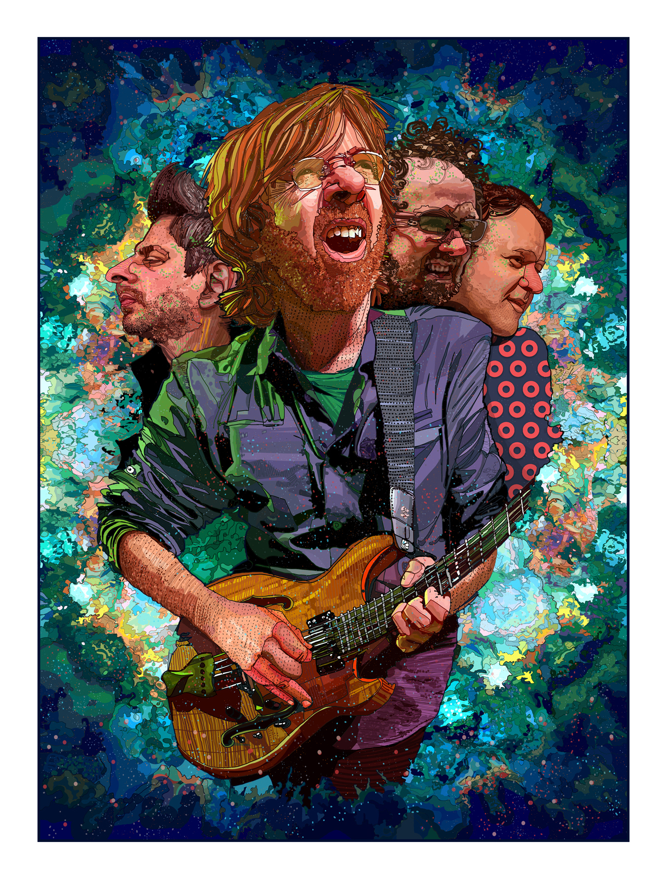 Phish | for Rolling Stone Magazine
