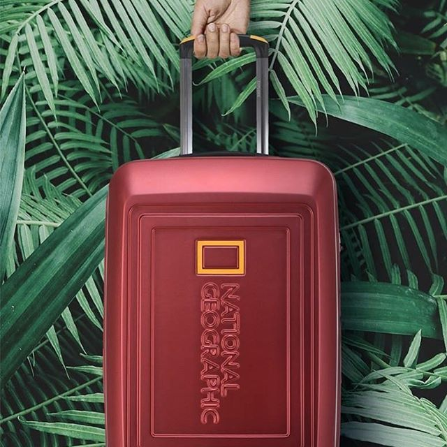 Dreary for your next destination? The #nationalgeographic Destination range is. Made from recycled post consumer plastic bottles you can help the environment while you travel.  #environmentallyfriendly #recycled #travel