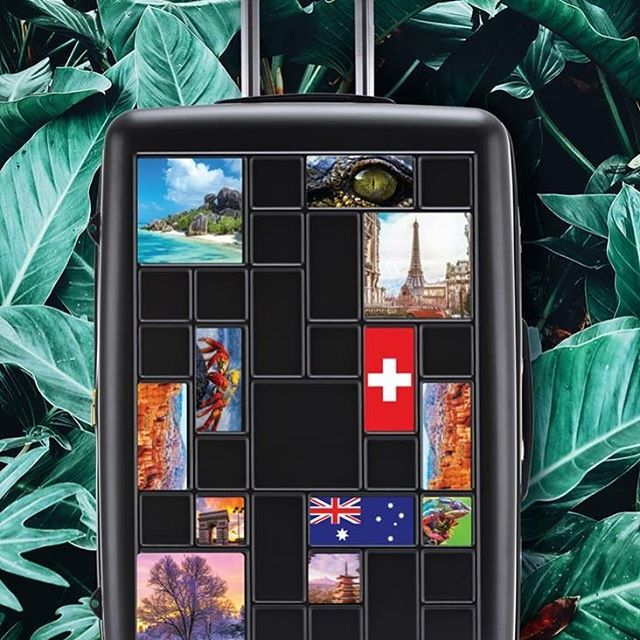 See the world, and be seen with the #nationalgeographic Iconic collection. With included stickers to customise your case and share your adventures, while you're on them! Made from recycled iPET plastic from post consumer plastic bottles, it's supporting the environment!