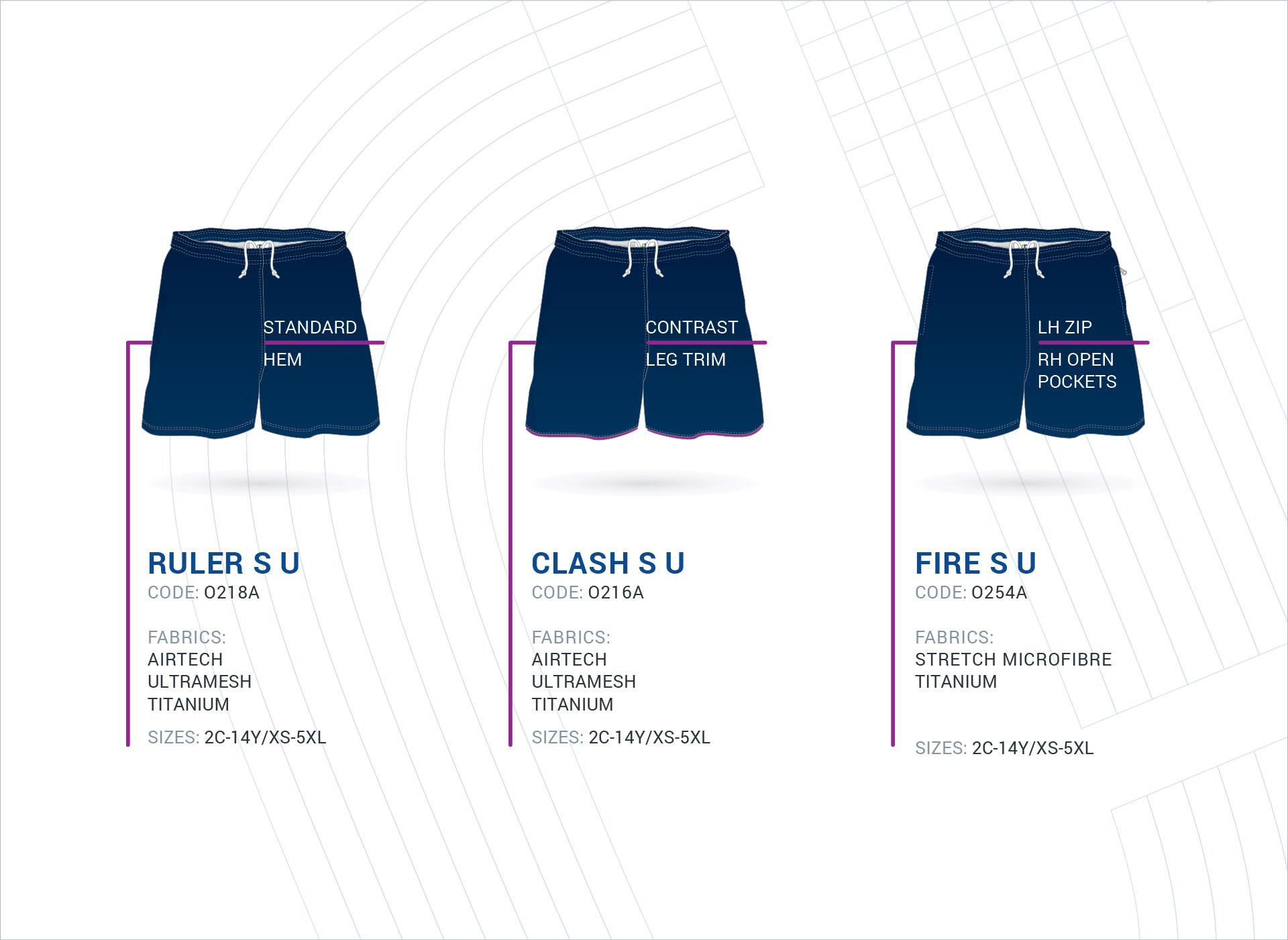Unisex Multi-Purpose Shorts