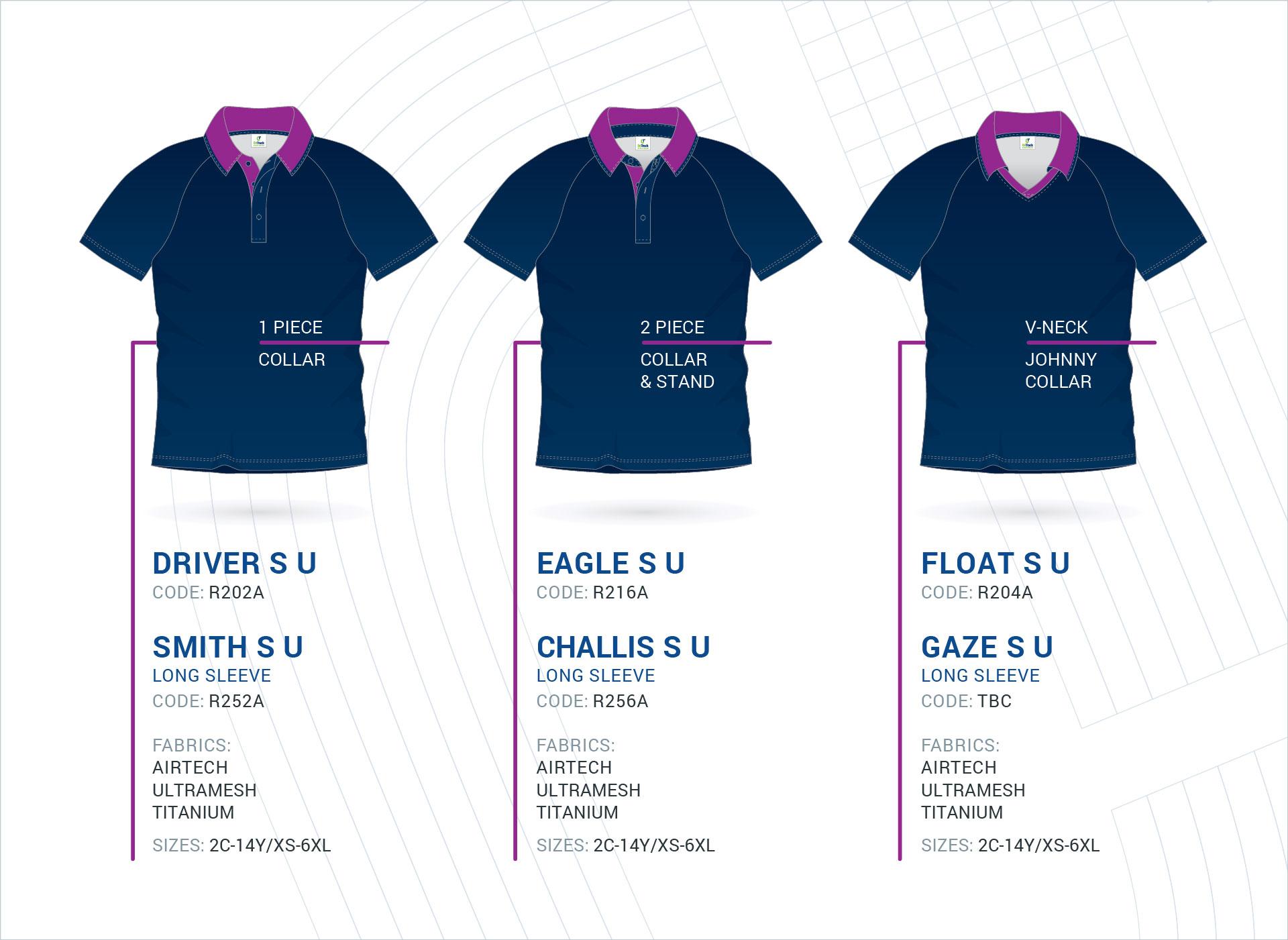 Unisex Raglan Sleeve Polo's