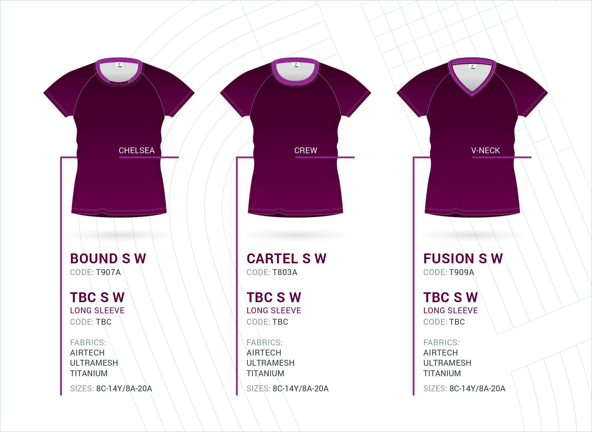 Women's Raglan Sleeve Tops