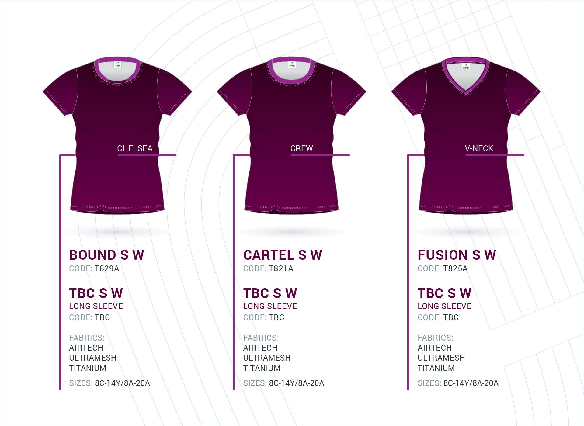 Women's Set-In Sleeve Tops