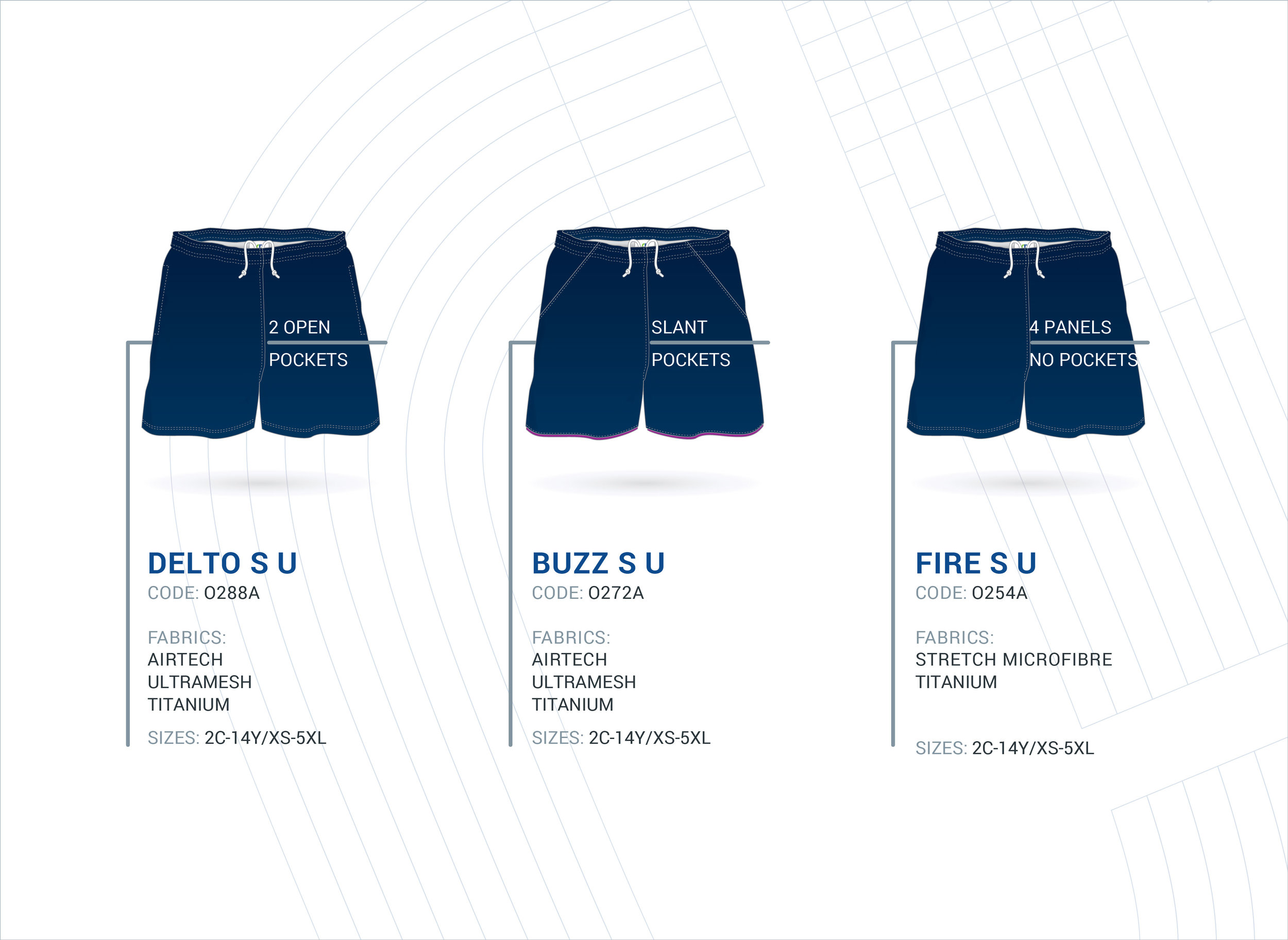 Unisex Multi-Purpose Shorts - Continued