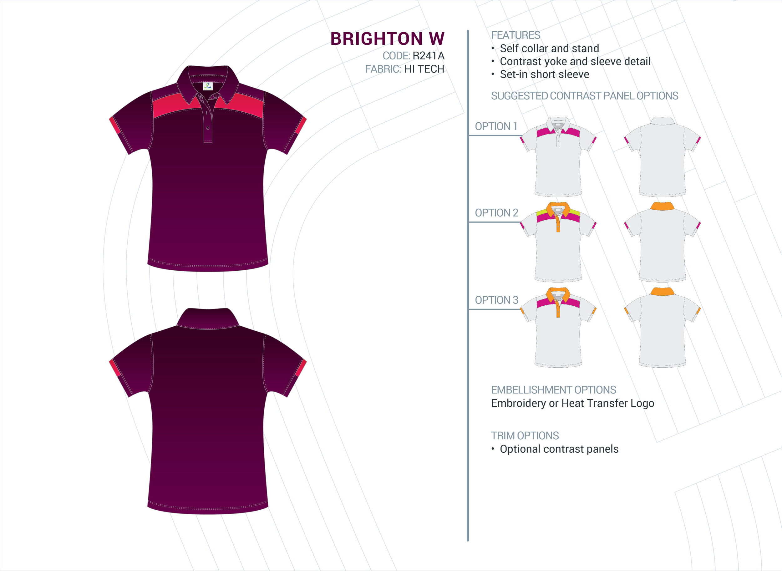Women's Brighton Hi-Tech Polo