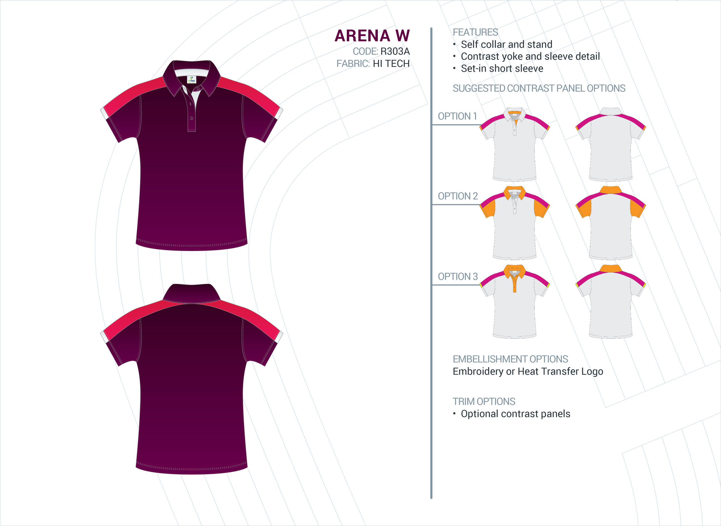 Women's Arena Hi-Tech Polo