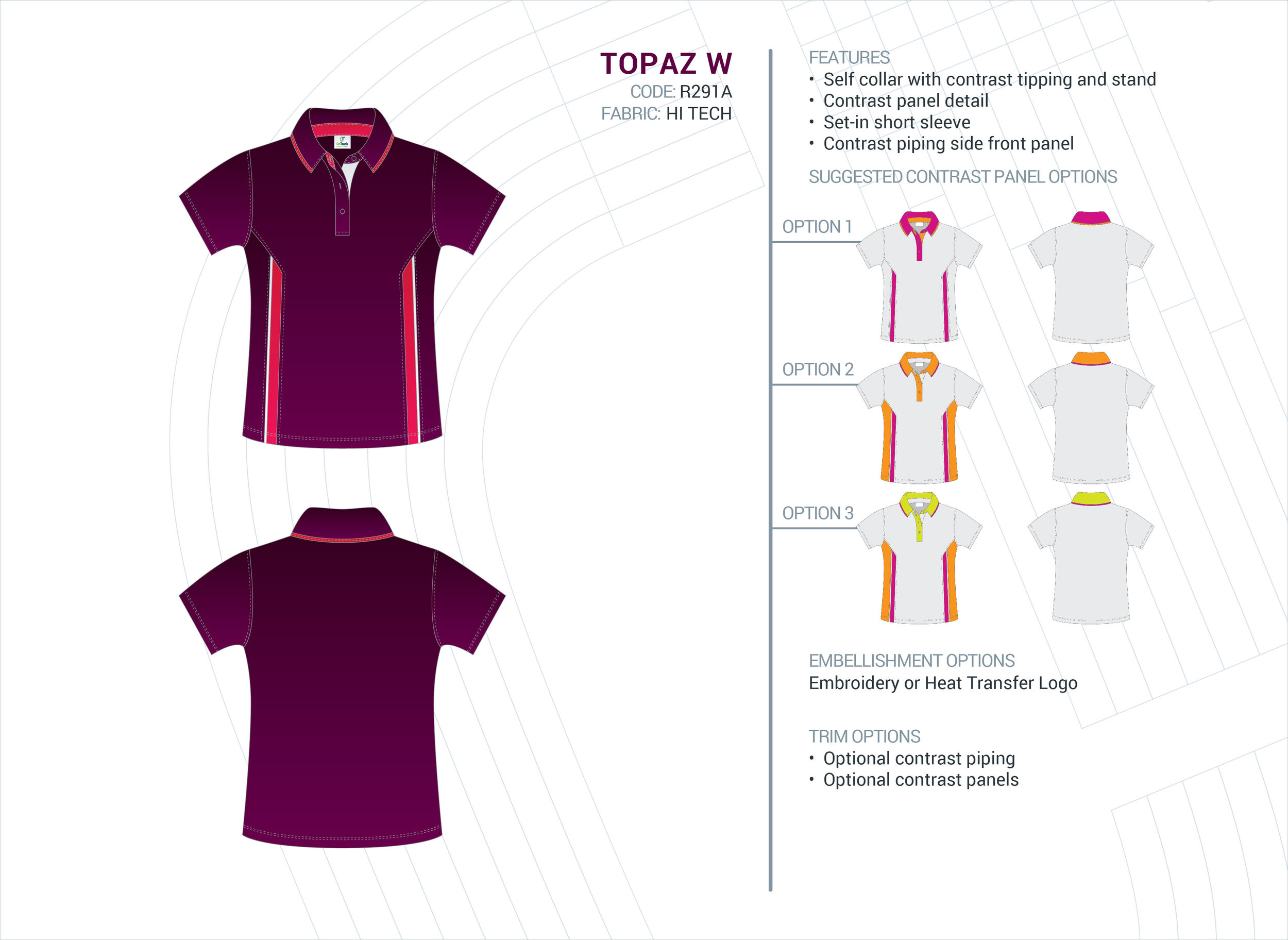 Women's Topaz Hi-Tech Polo