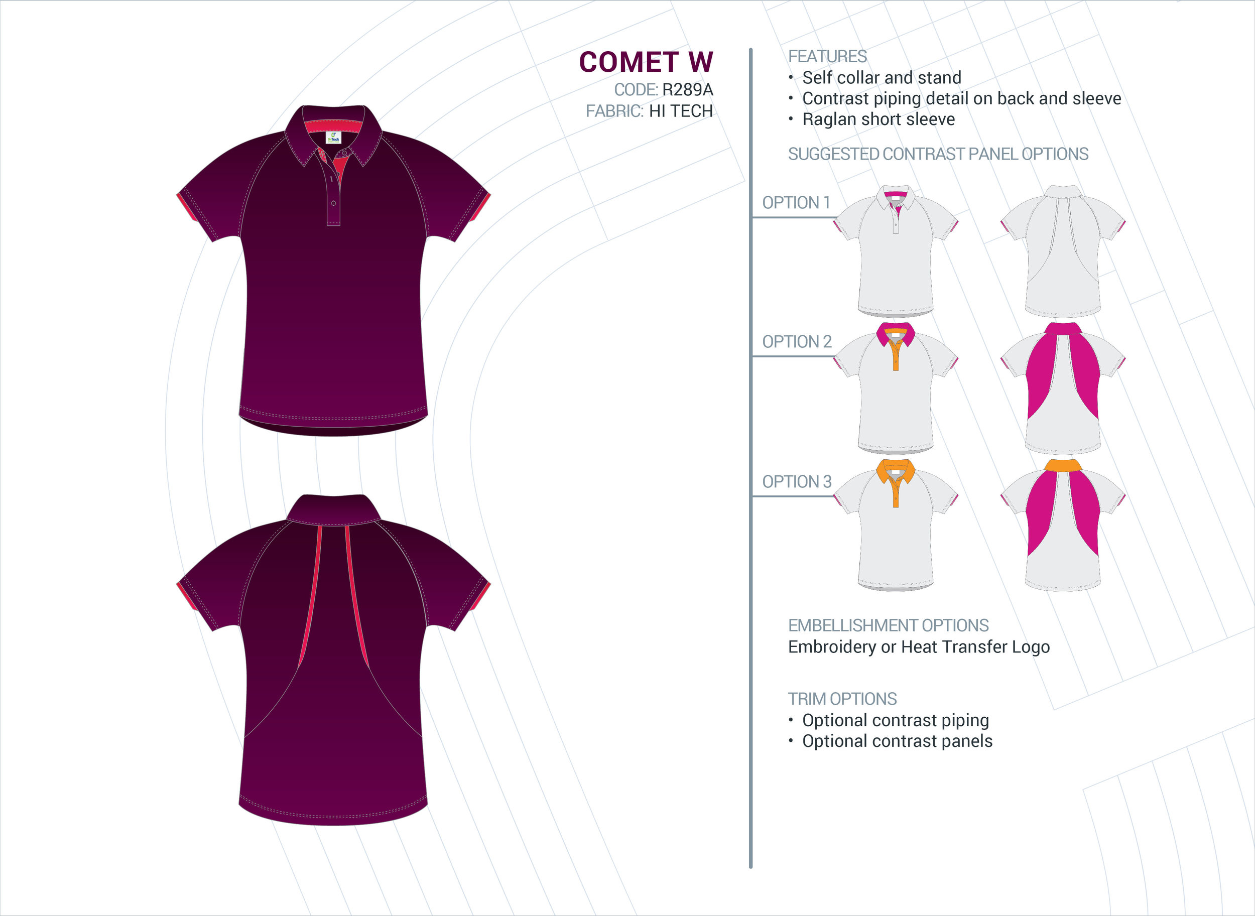 Women's Comet Hi-Tech Polo