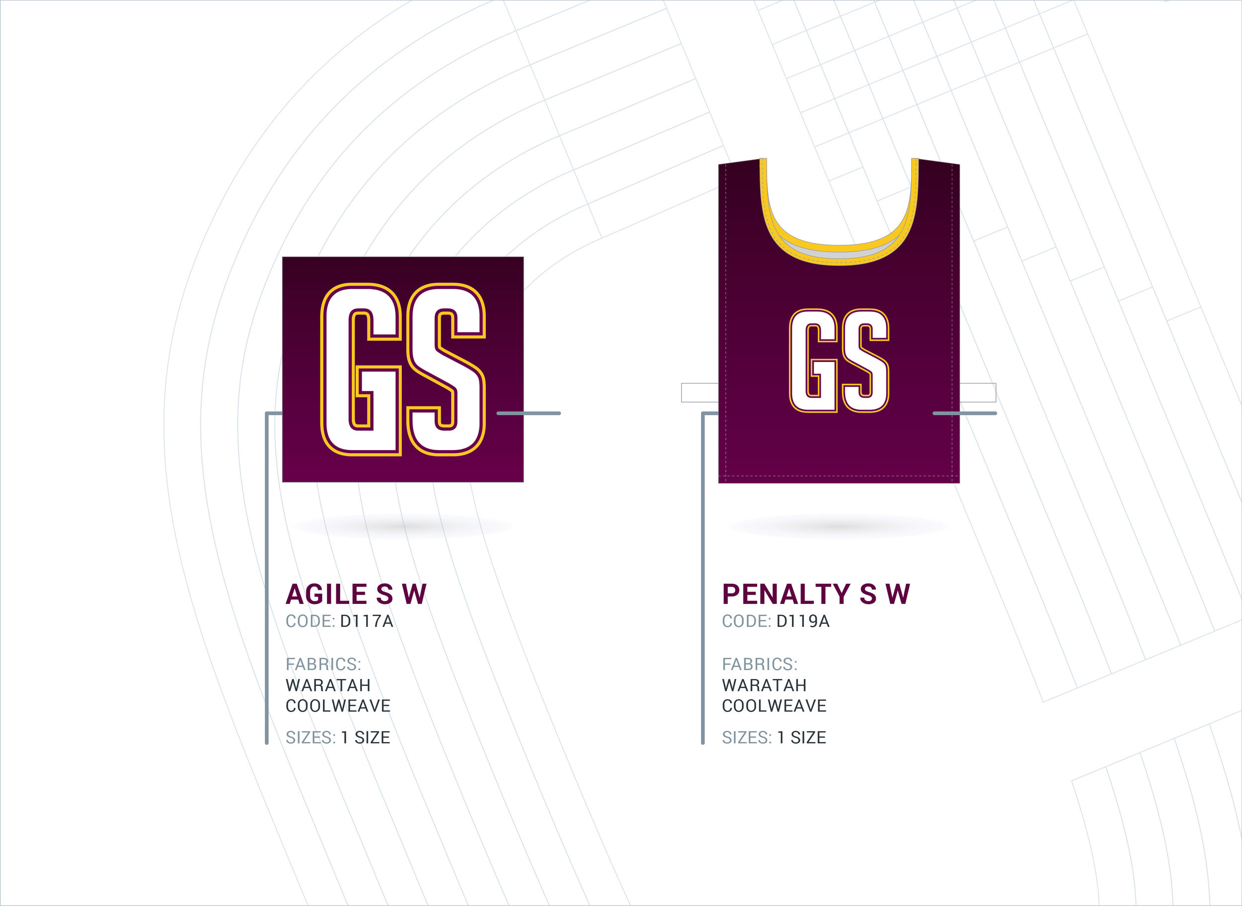 Netball Patches & Over The Shoulder Bibs