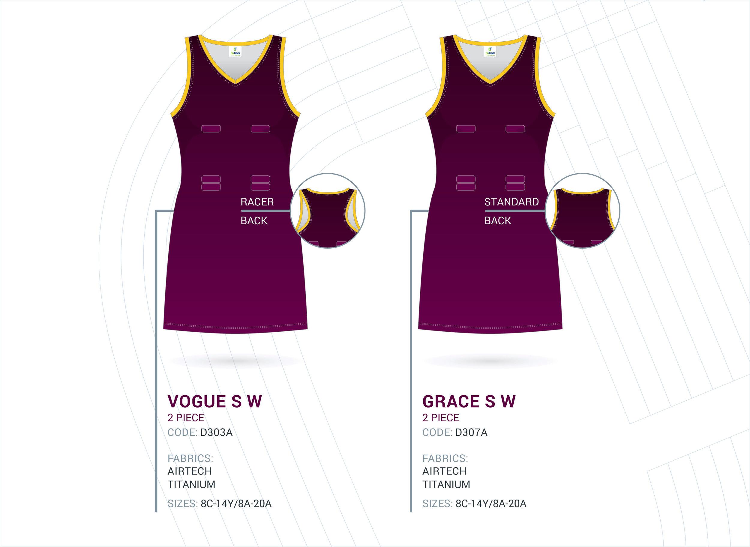 2-Piece V-Neck Dresses