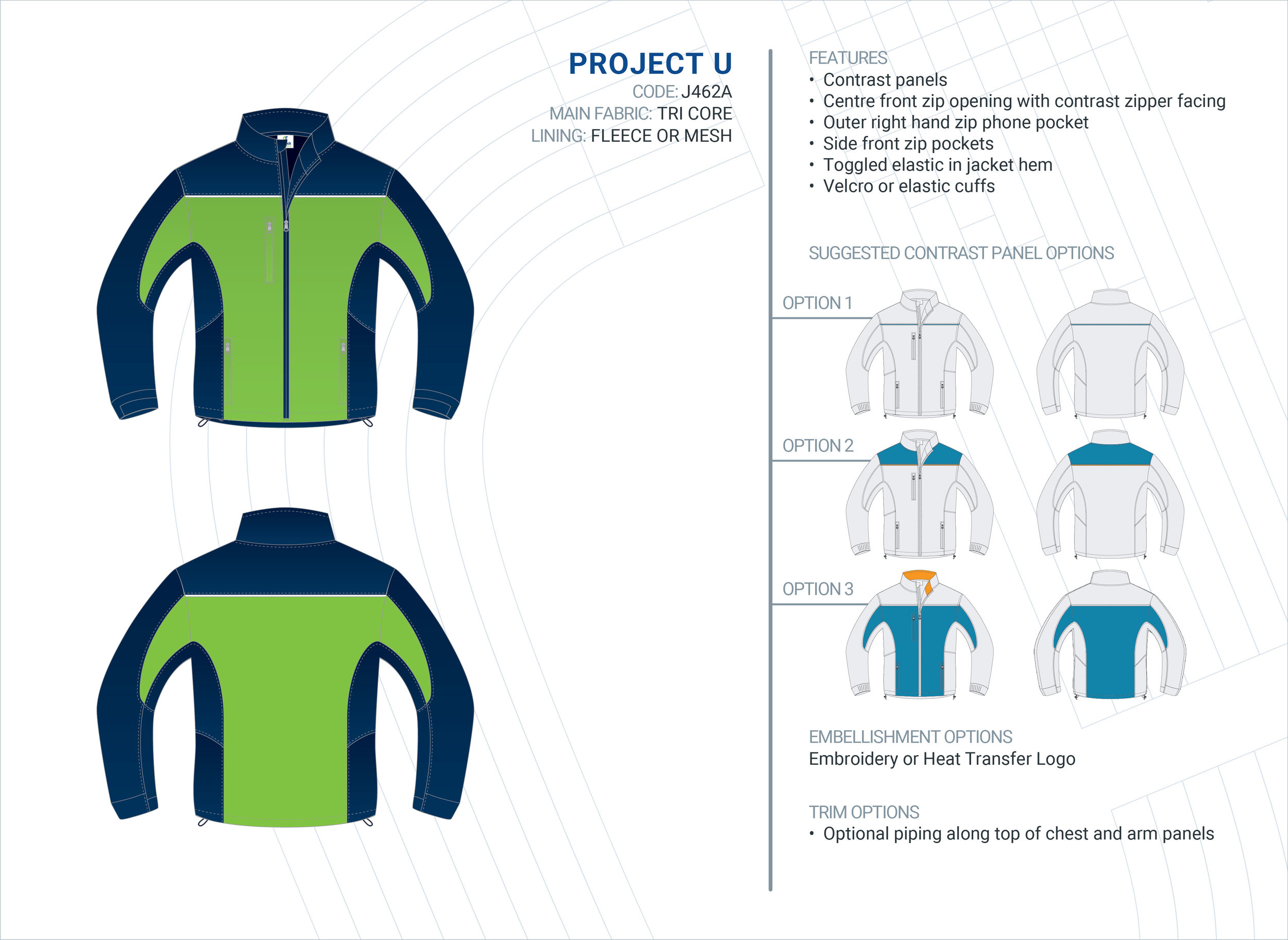 Unisex  Project  Tri-Core Jacket