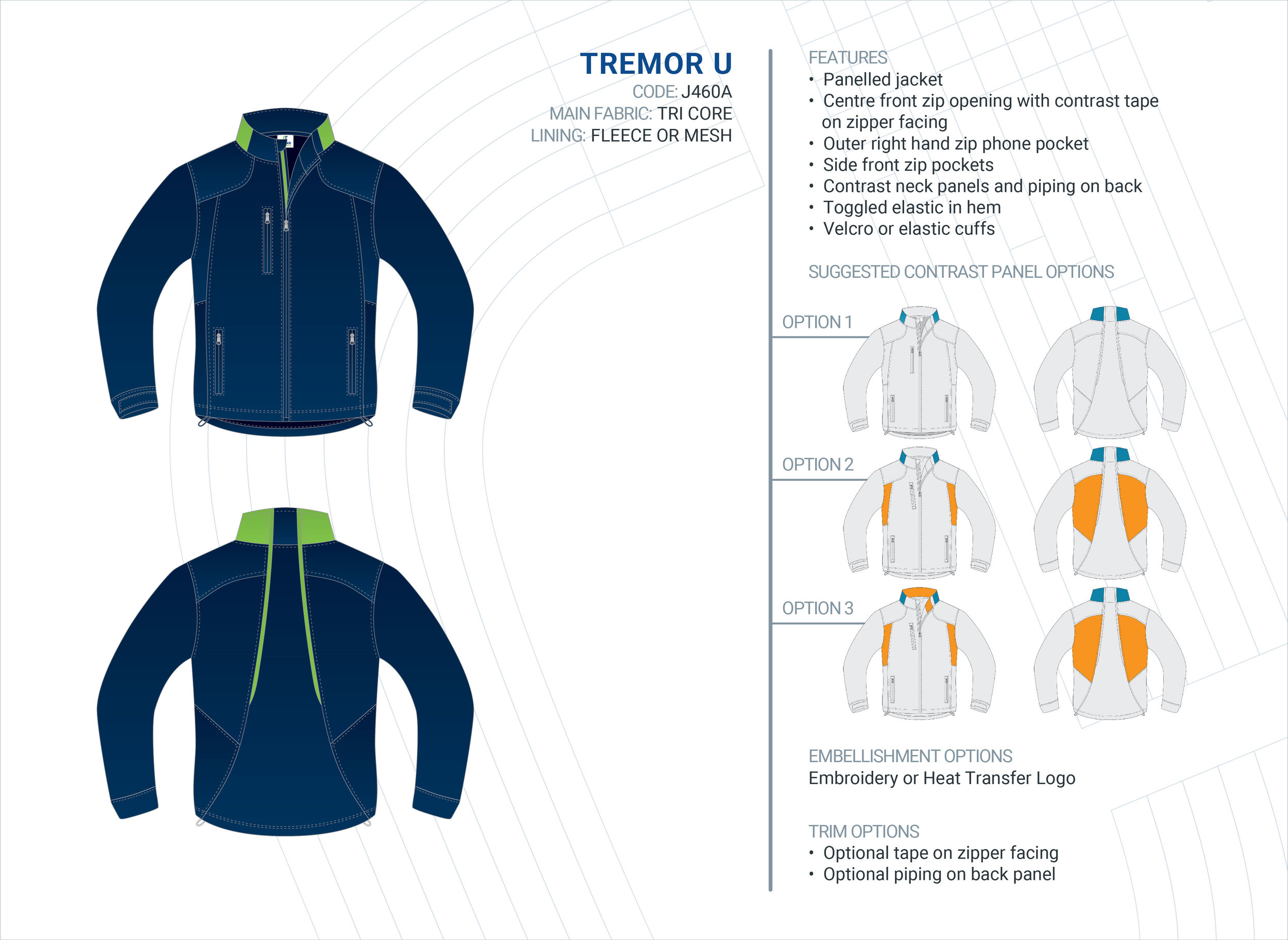 Unisex  Tremor  Tri-Core Jacket