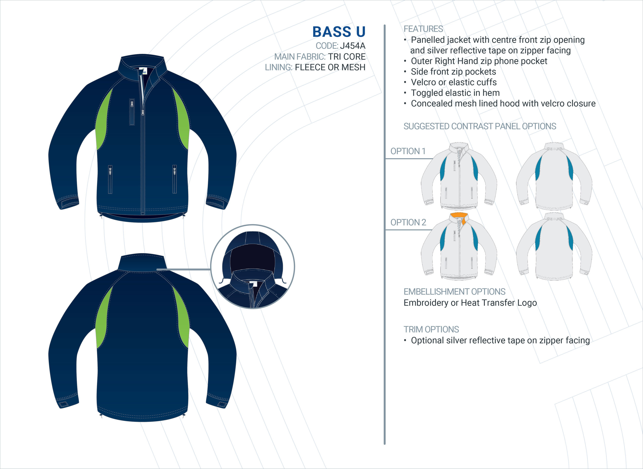 Unisex  Bass  Tri-Core Jacket