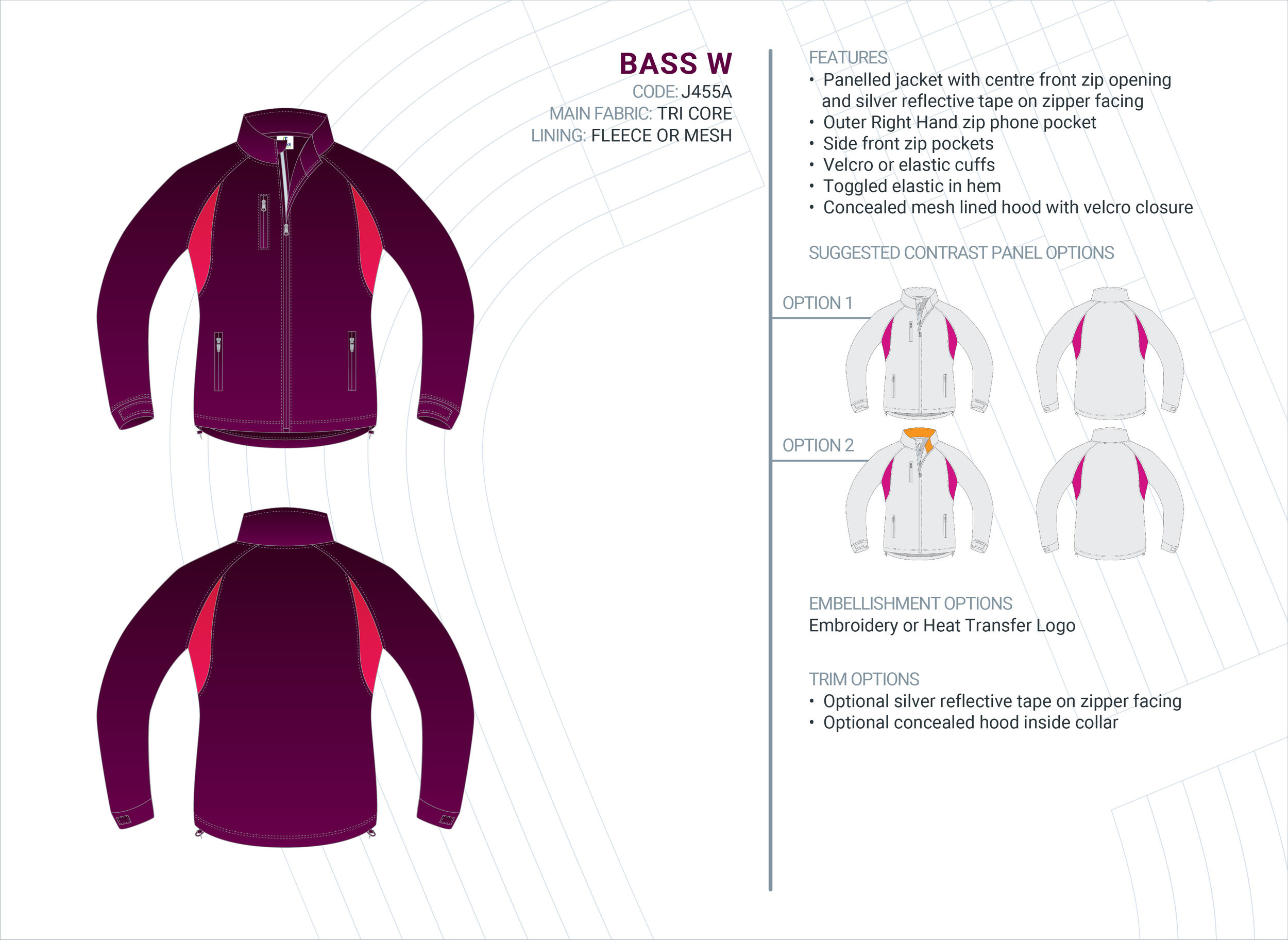 Women's  Bass  Tri-Core Jacket