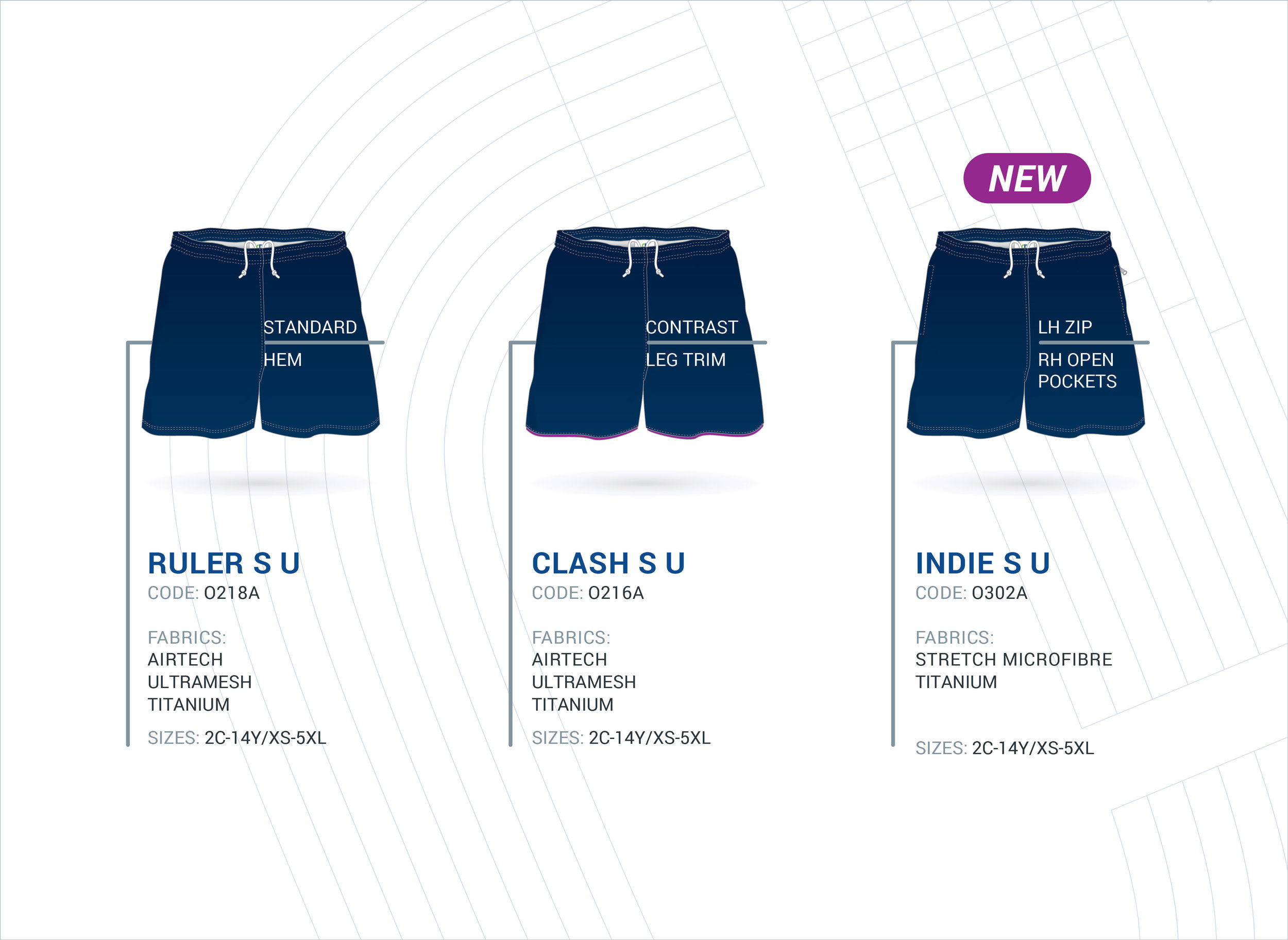Unisex Multi-Purpose Shorts