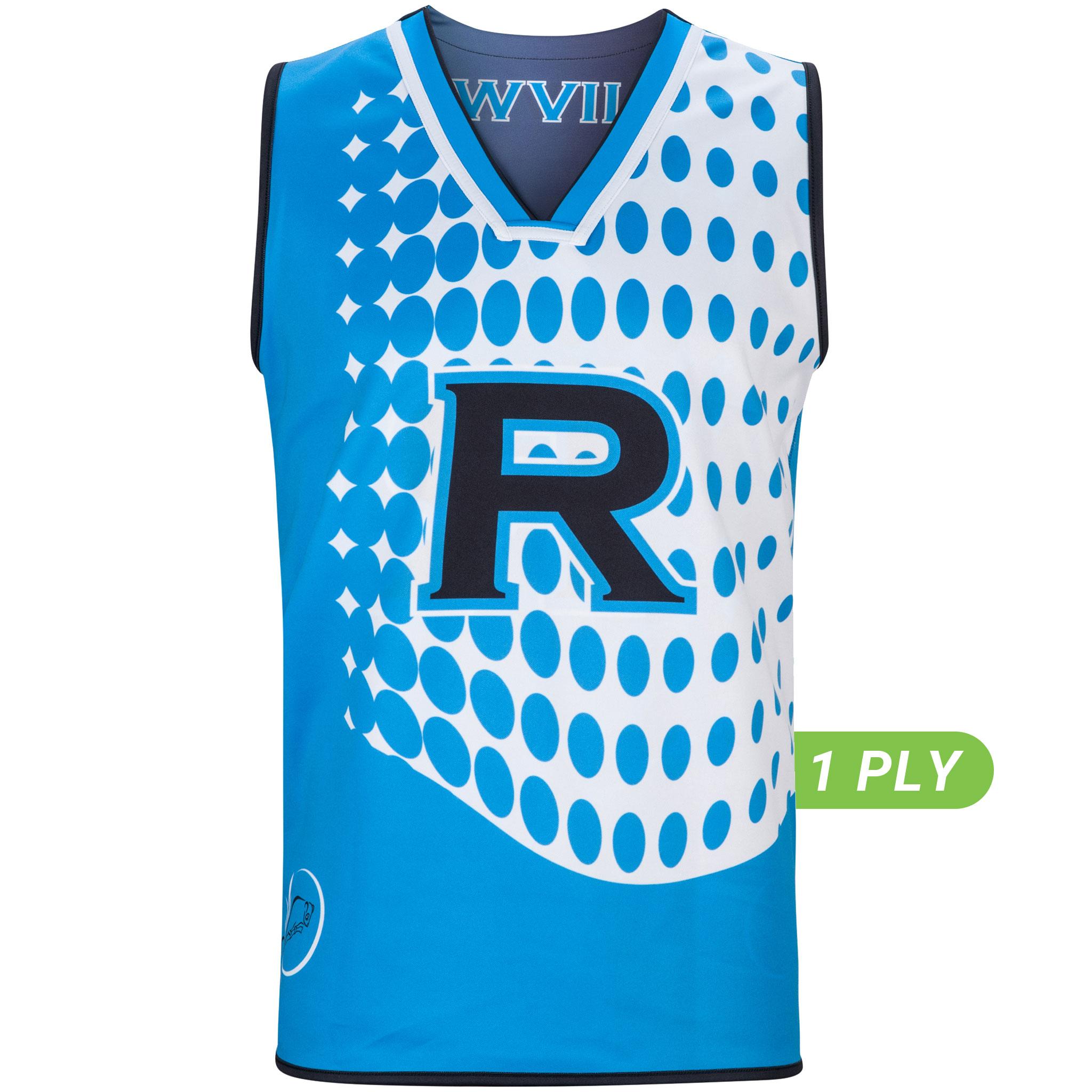 1 PLY Reversible Basketball Singlet
