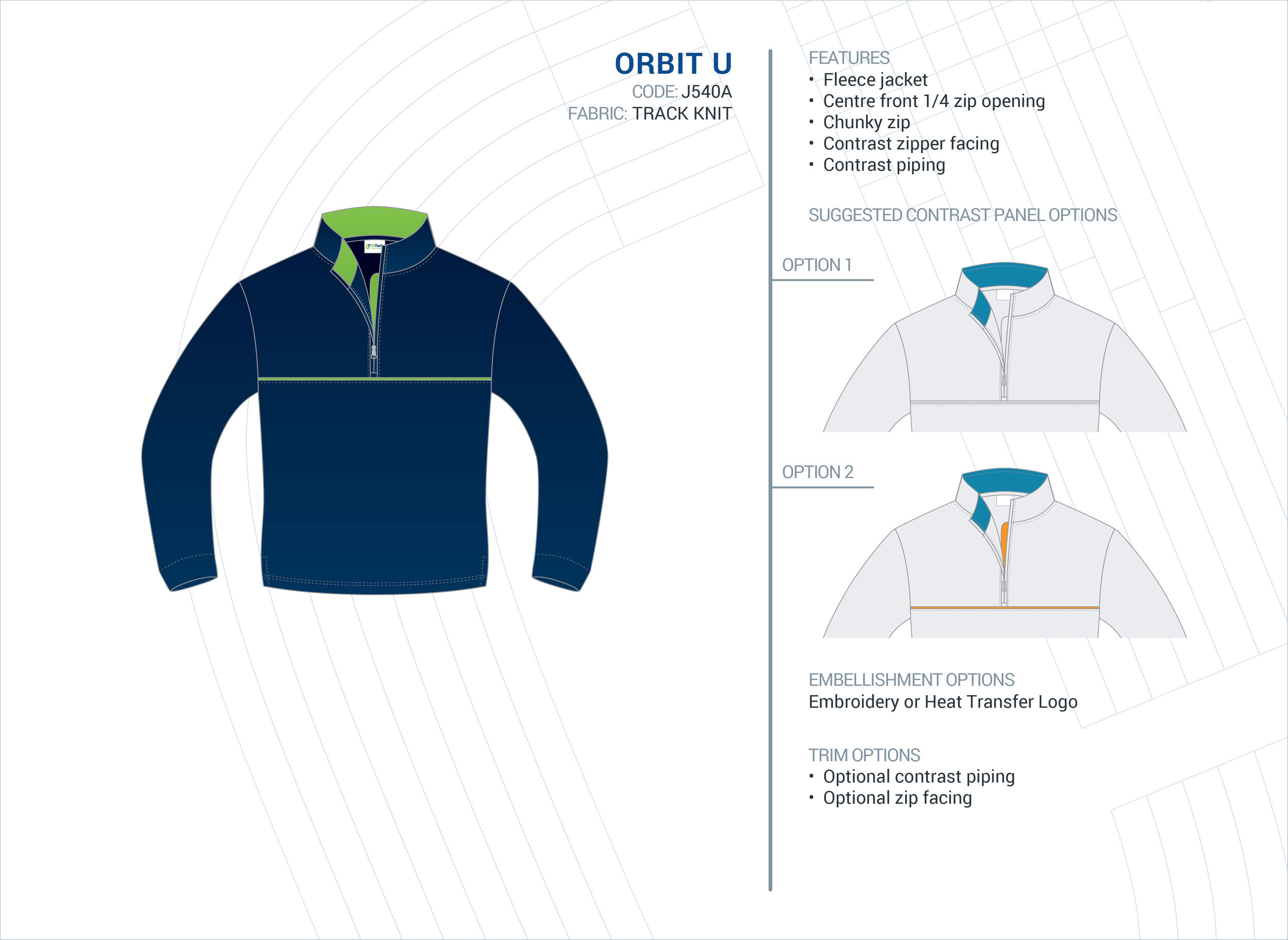 Unisex  Orbit  ELC Fleece Jacket